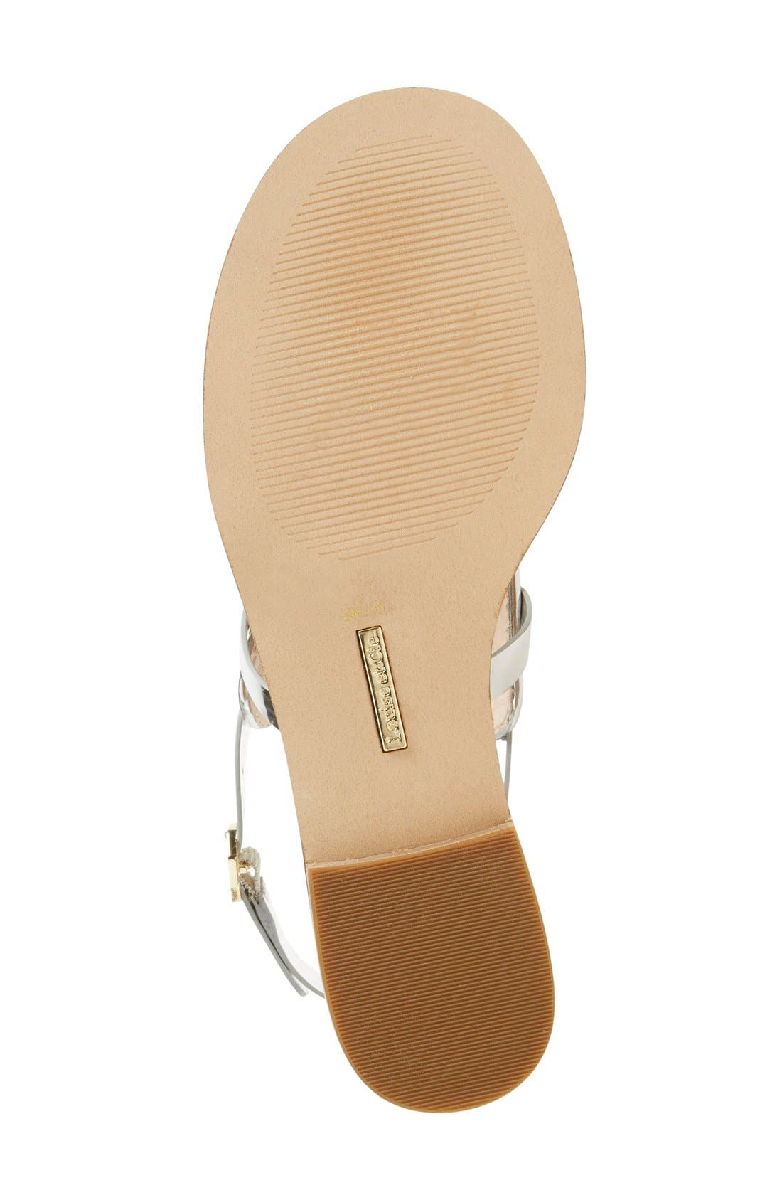 Alternate Image 4  - Louise et Cie 'Rissa' Flat Sandal (Women)