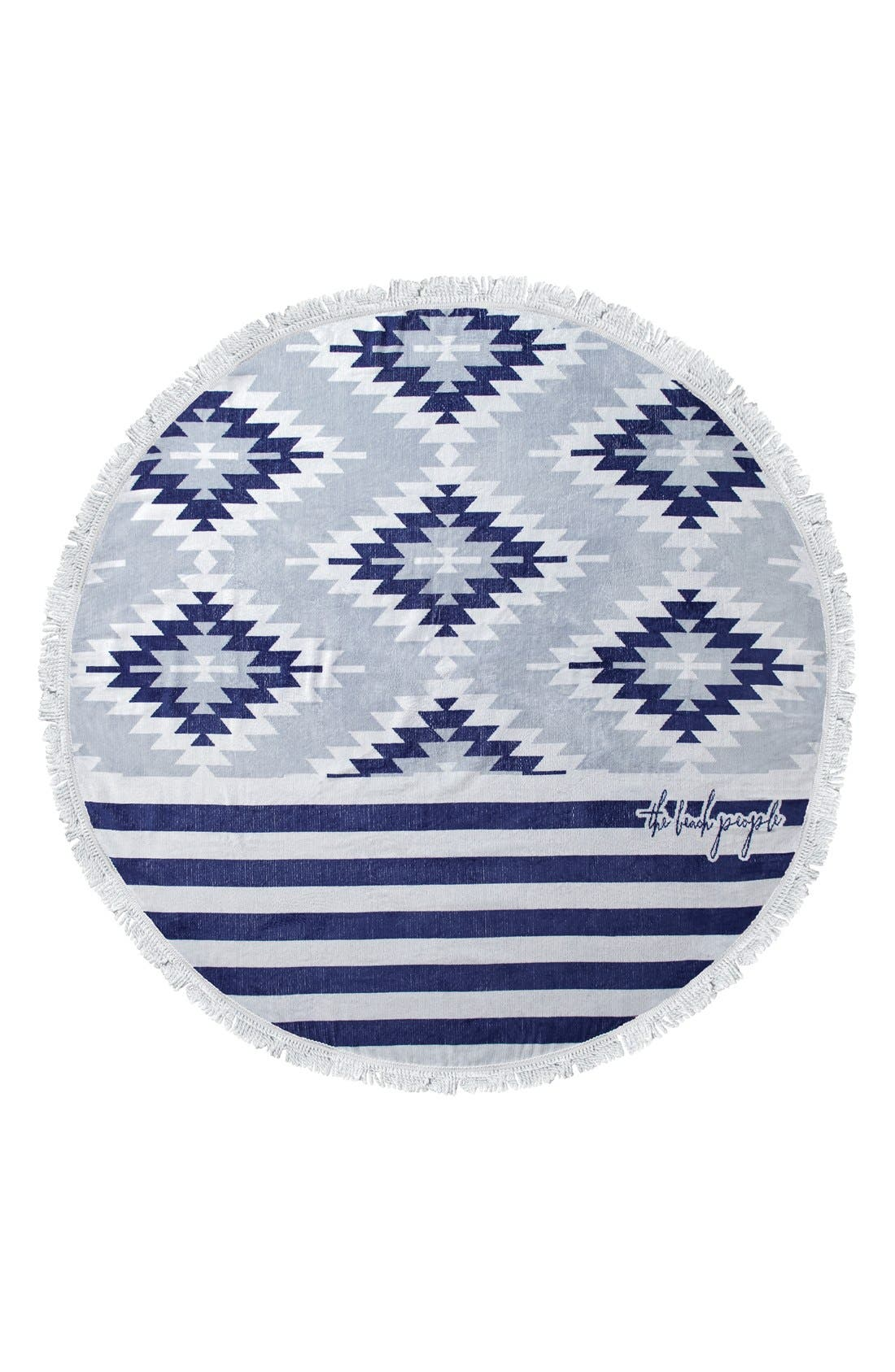 The Beach People 'Montauk' Round Beach Towel