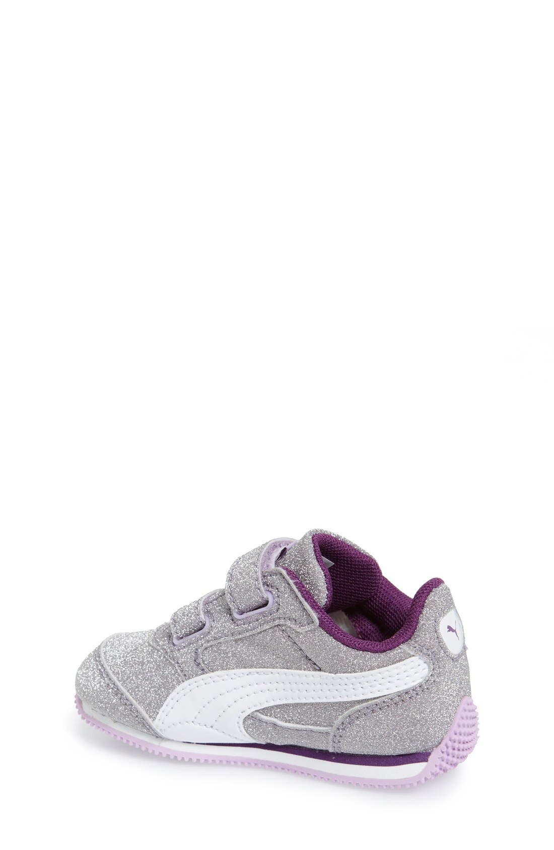 Alternate Image 2  - PUMA 'Steeple Glitz' Sneaker (Baby, Walker, Toddler, Little Kid & Big Kid)