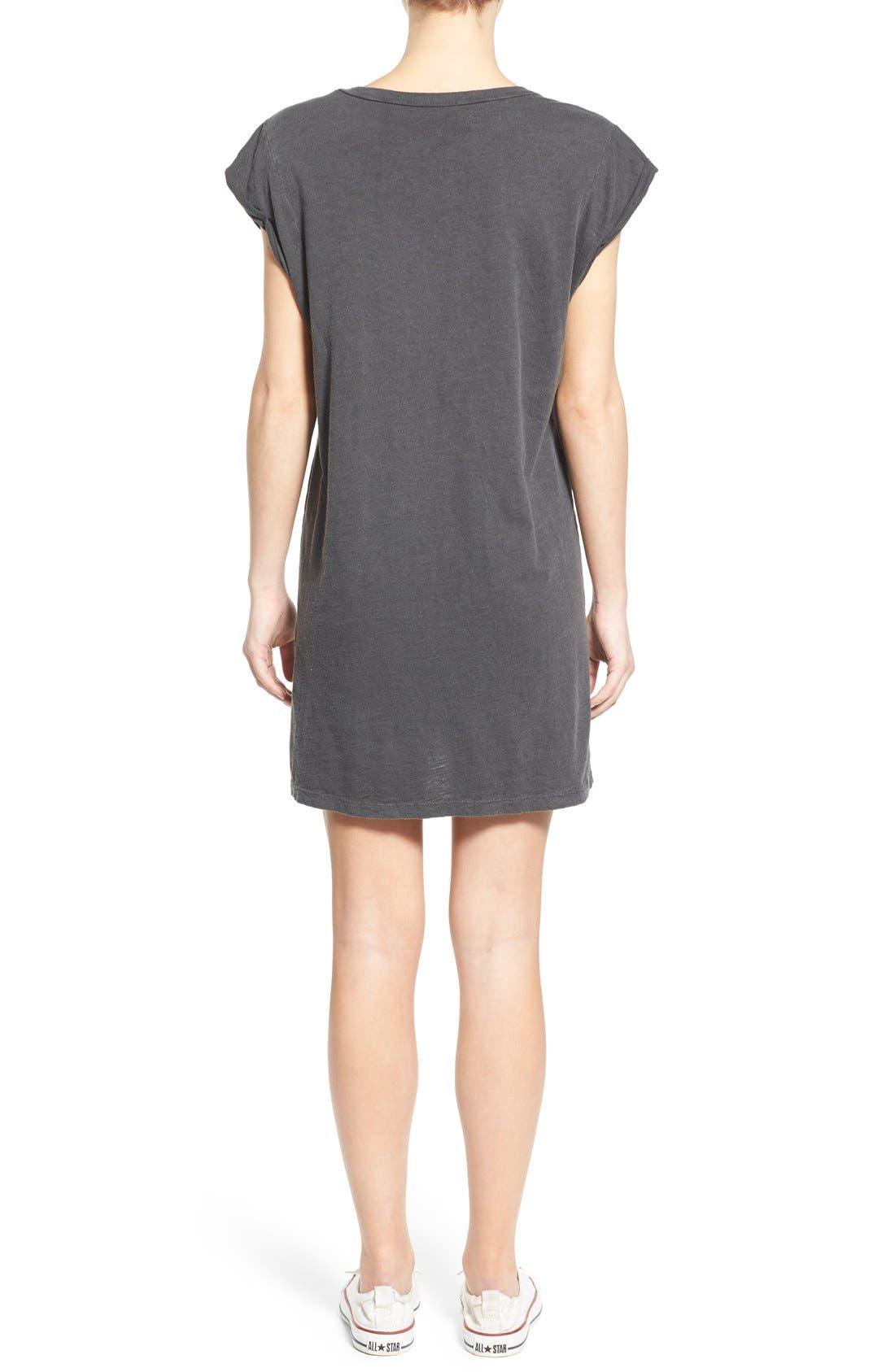 Alternate Image 2  - Billabong 'Forever Salty' Graphic T-Shirt Dress