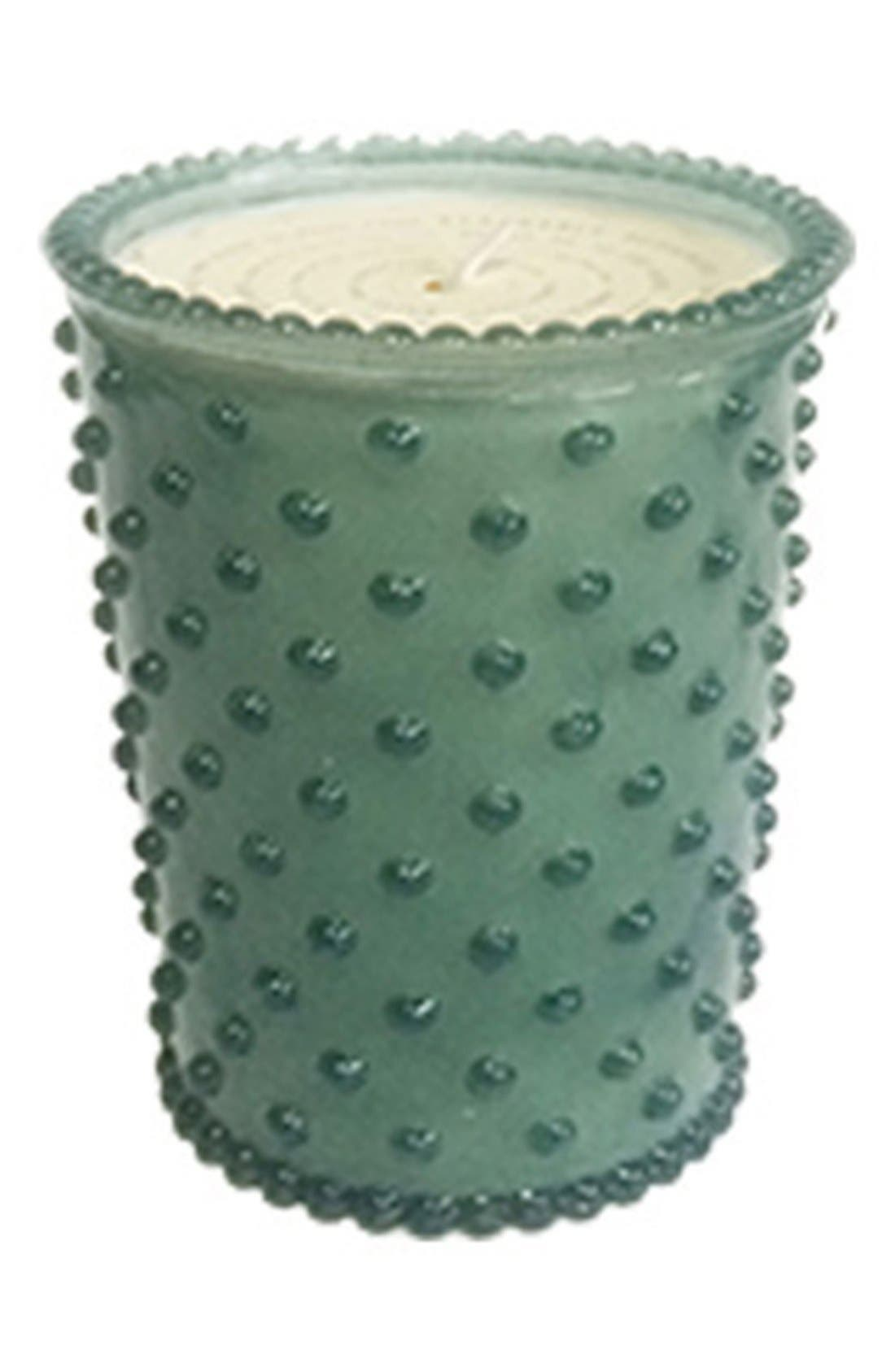 Alternate Image 1 Selected - Simpatico Hobnail Glass Candle
