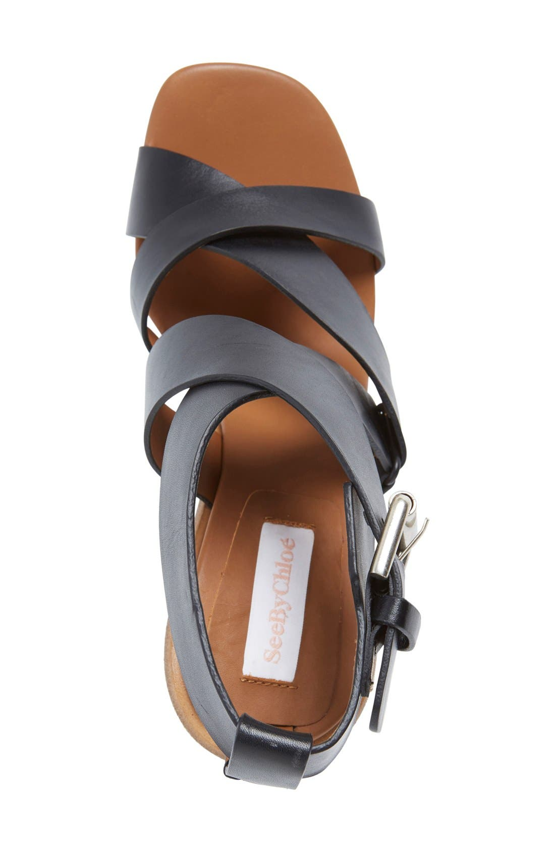 Alternate Image 3  - See by Chloé 'Tiny' Wedge Sandal (Women)