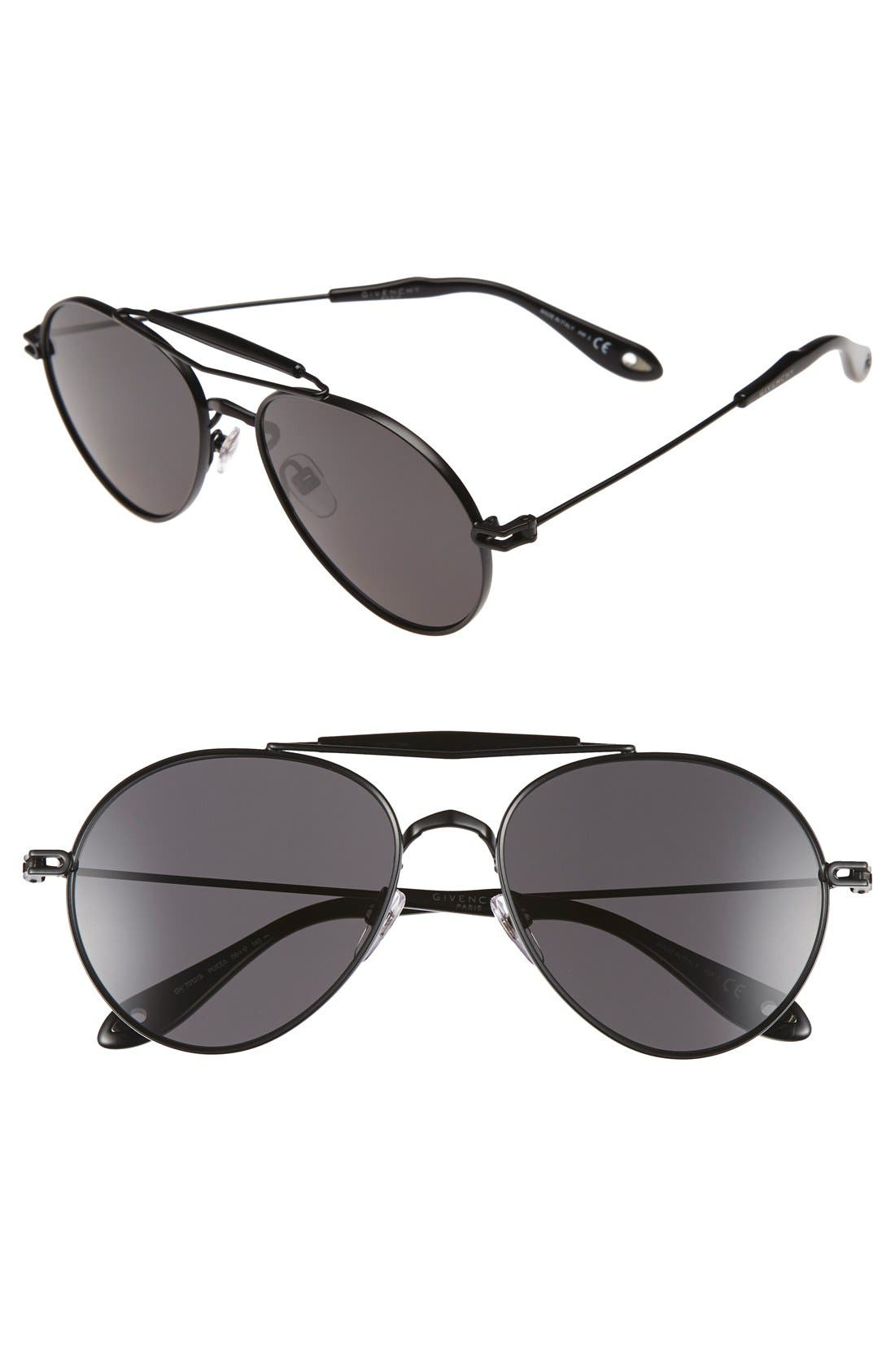 Alternate Image 1 Selected - Givenchy '7012/S' 56mm Sunglasses