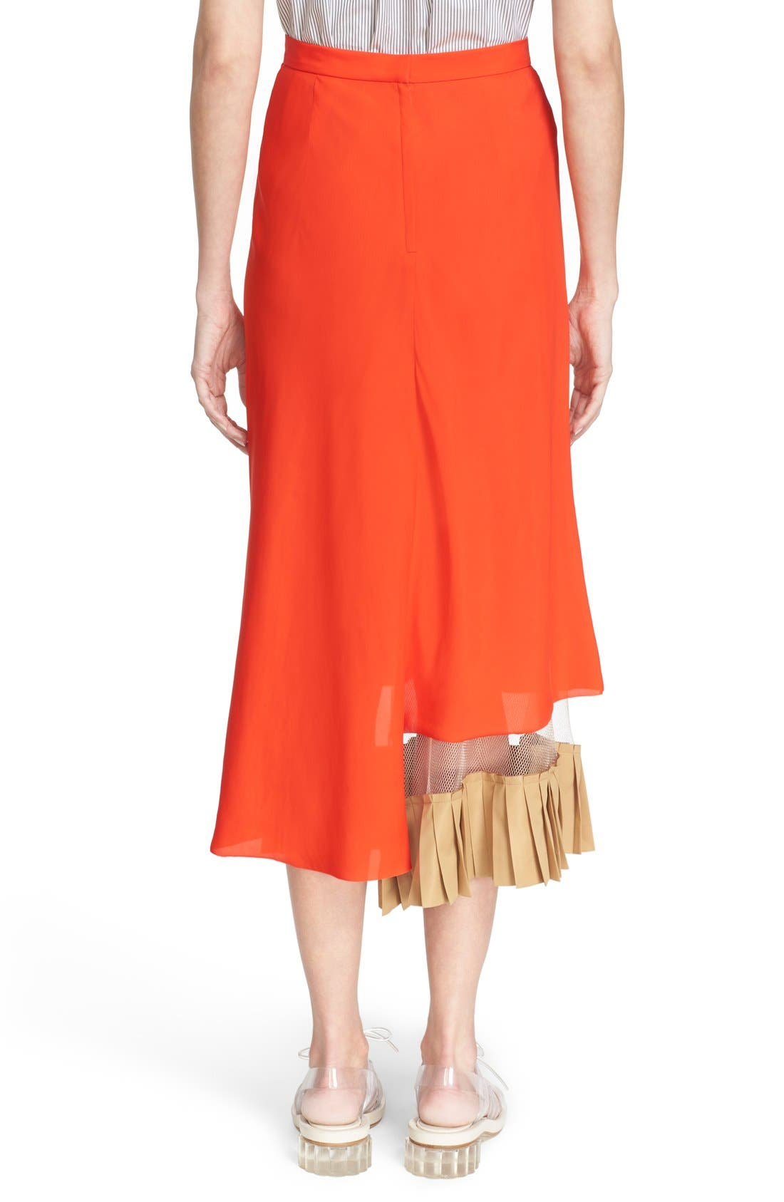 Alternate Image 2  - TOGA Asymmetrical Illusion Hem Skirt