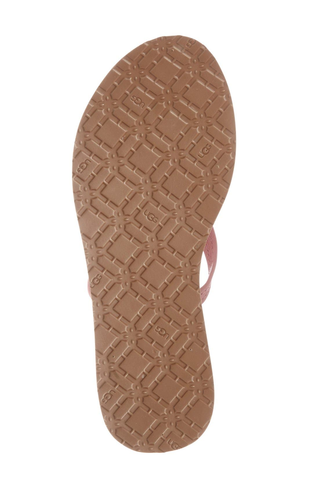 Alternate Image 4  - UGG® 'Magnolia Island' Flip Flop (Women)
