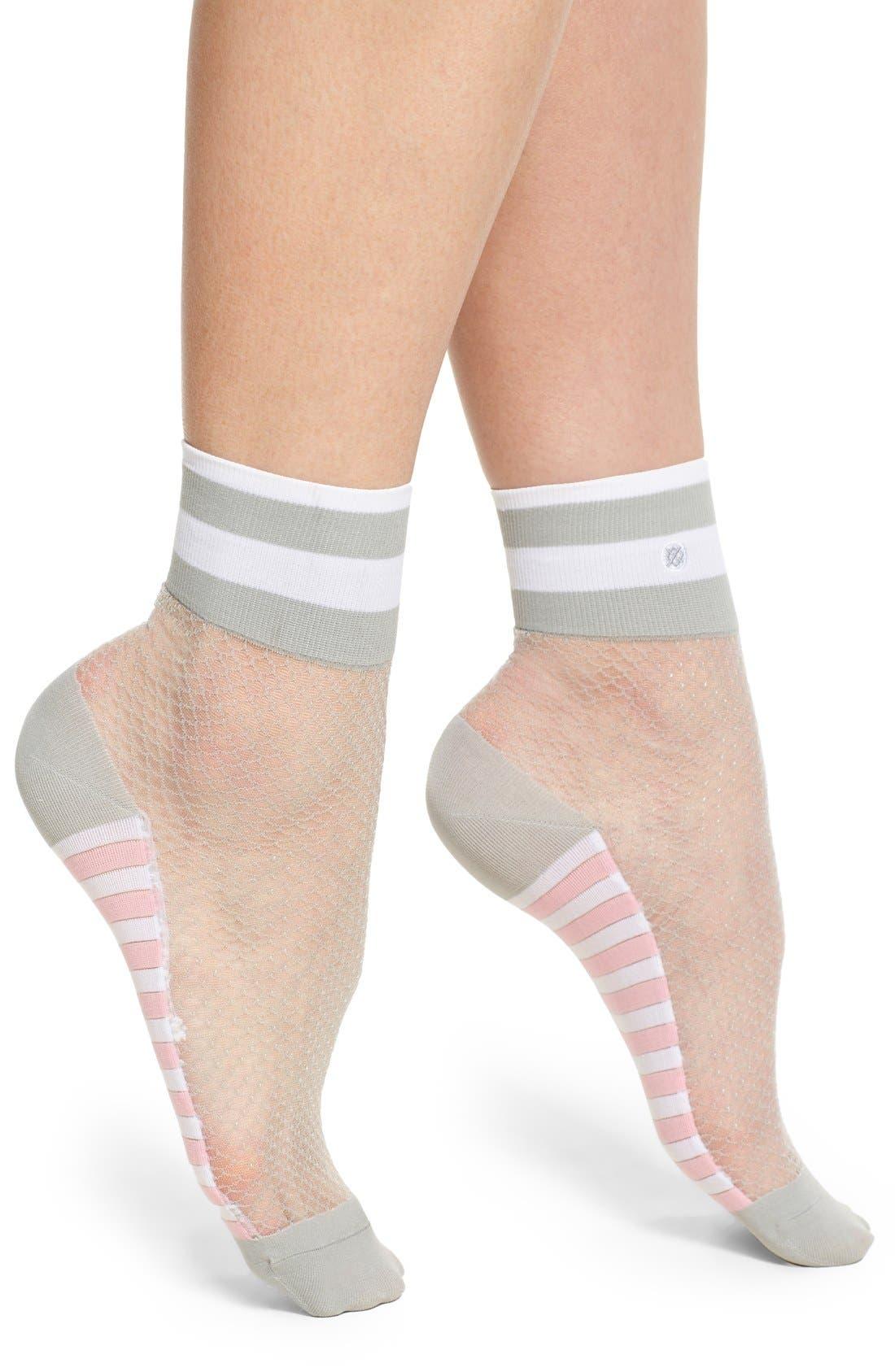 Alternate Image 1 Selected - Stance x Rihanna 'Spoiled Brat' Anklet Socks