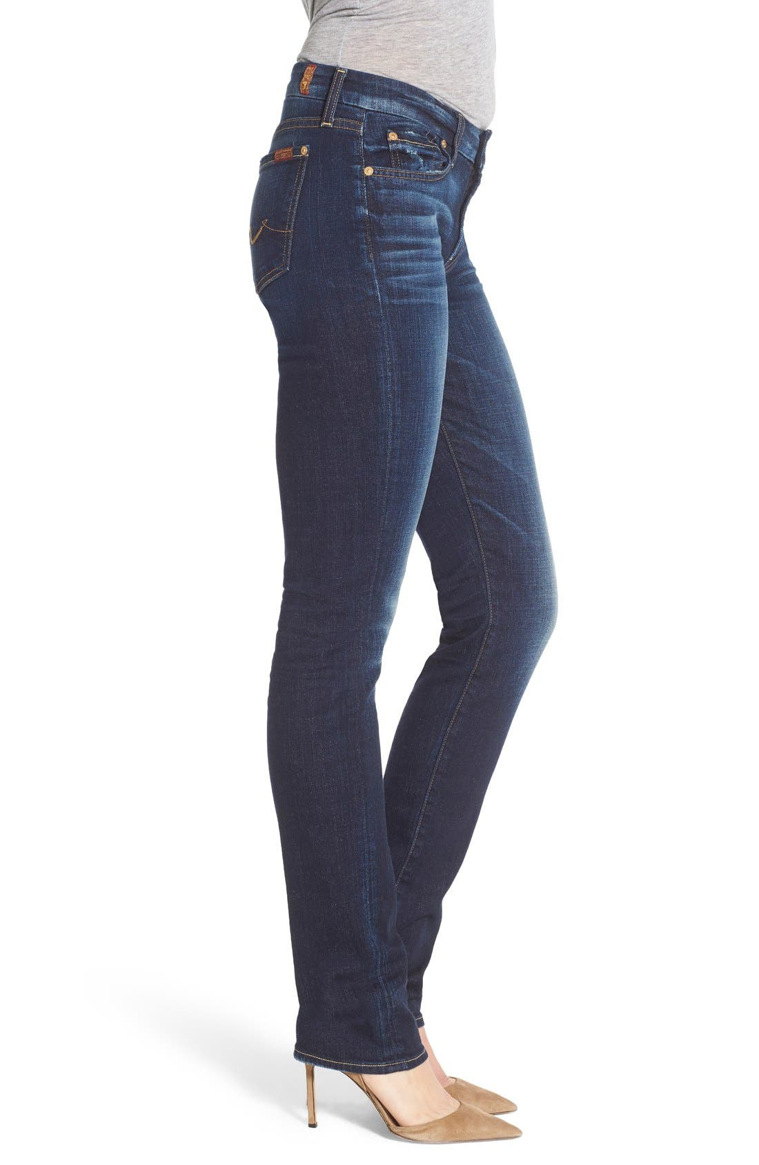 Alternate Image 3  - 7 For All Mankind® 'Kimmie' Straight Leg Jeans
