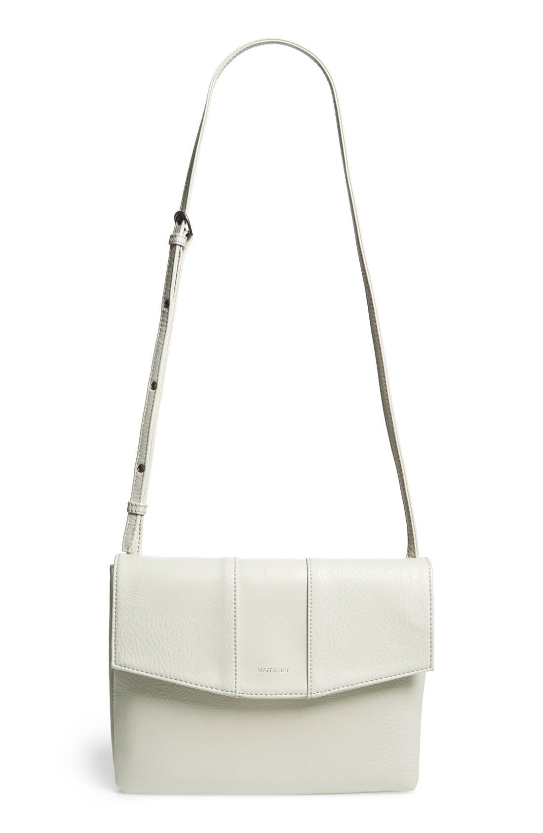 Alternate Image 1 Selected - Matt & Nat 'Eeha' Vegan Leather Crossbody Bag