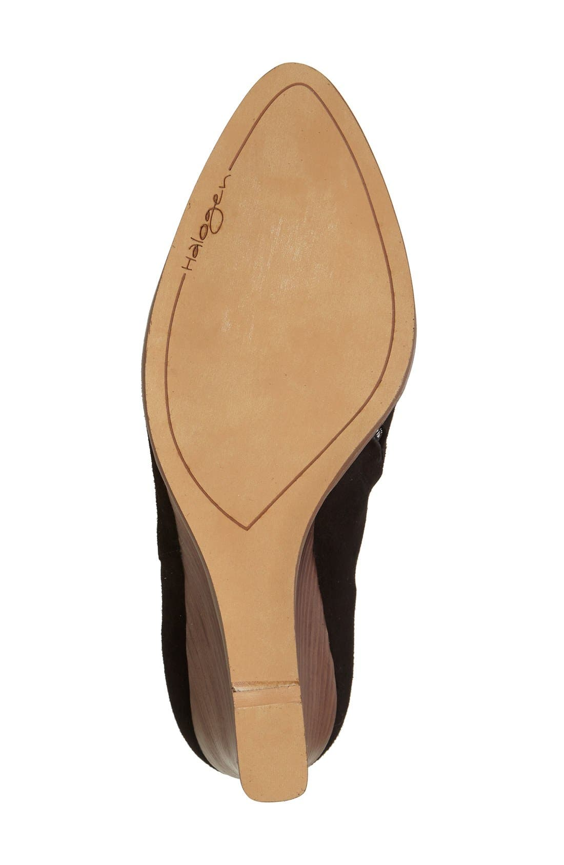 Alternate Image 4  - Halogen® 'Selbi' Almond Toe Wedge (Women)