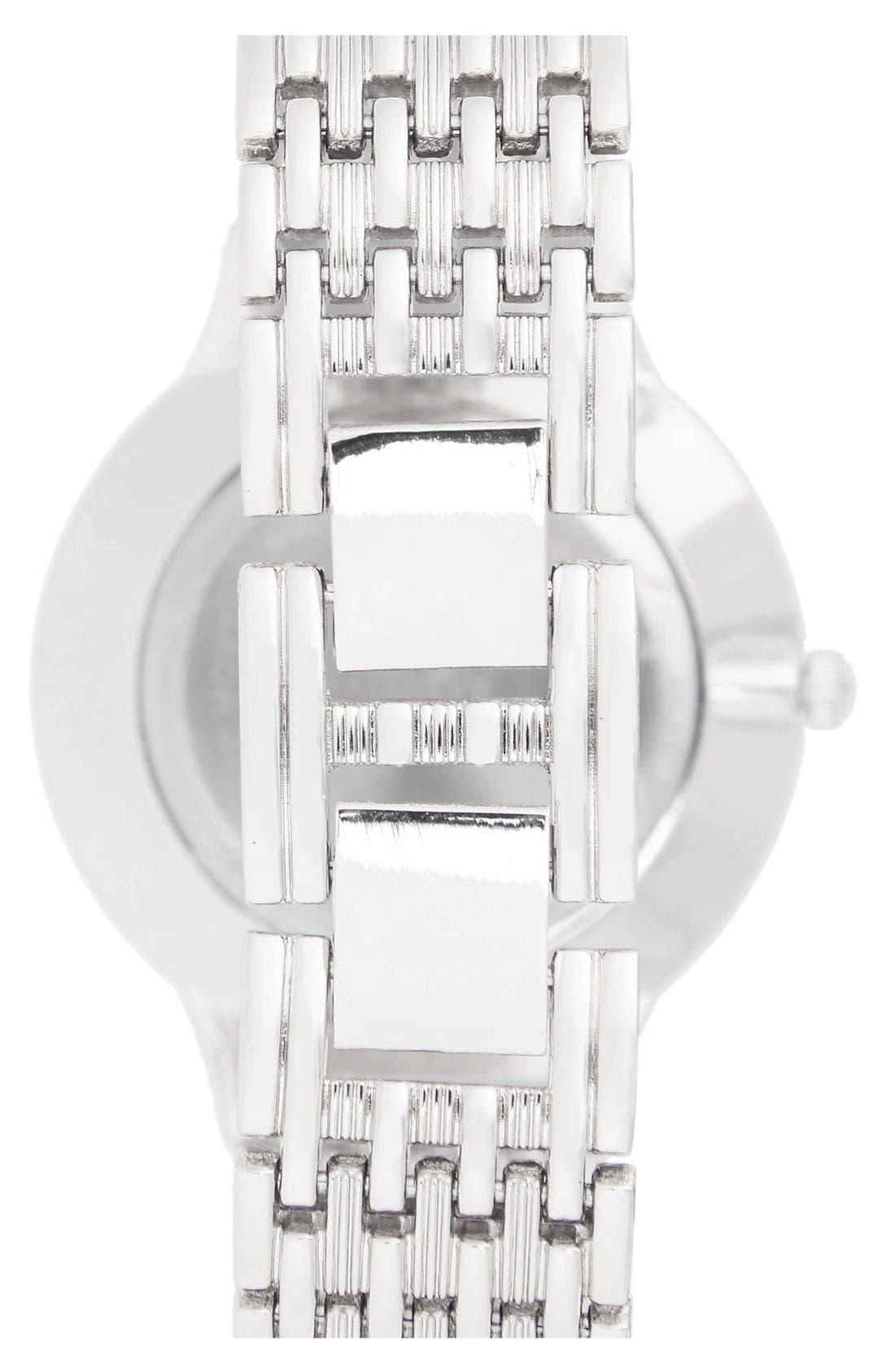 Alternate Image 2  - BP. 'Boyfriend' Bracelet Watch, 42mm