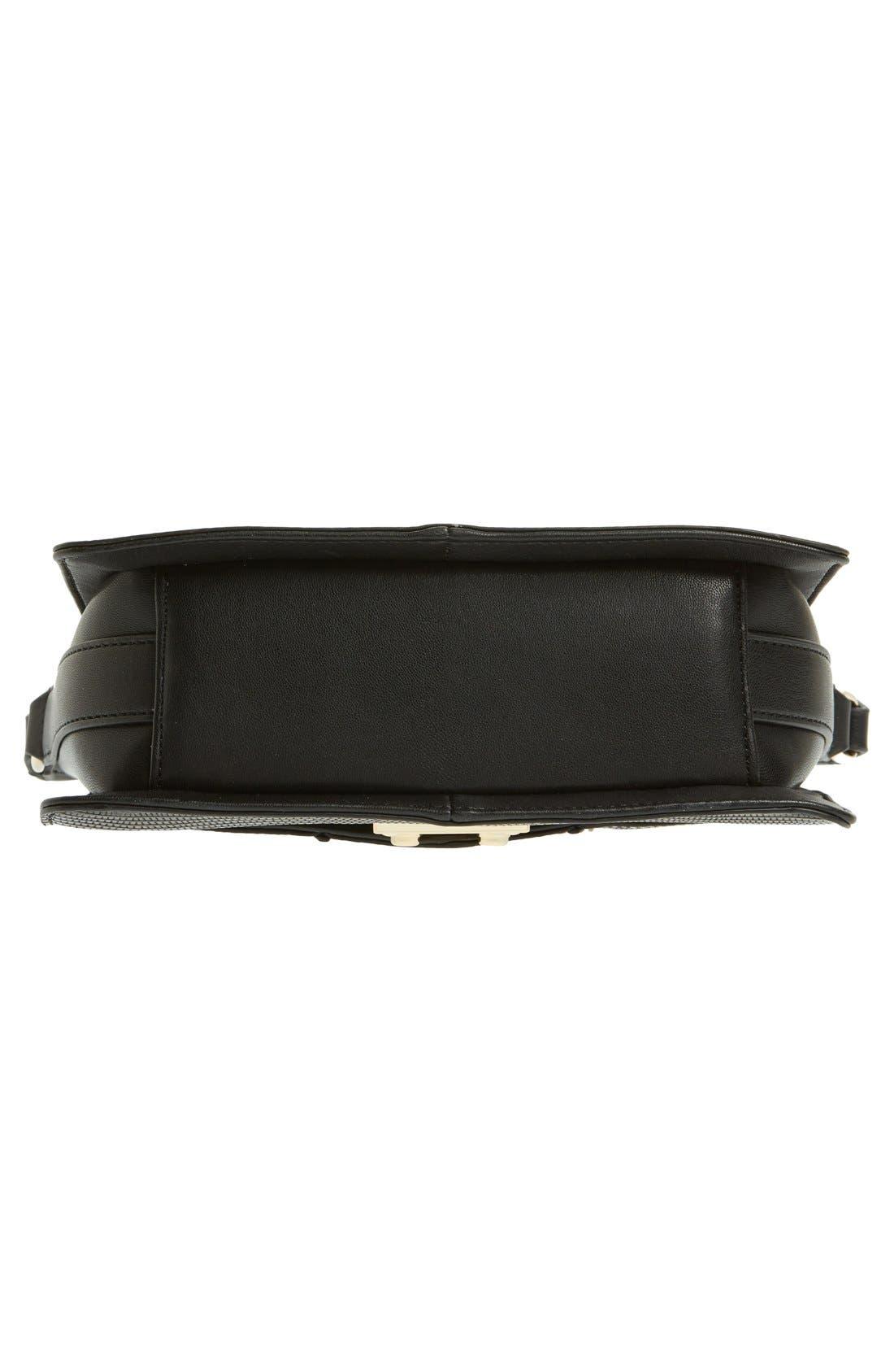 Alternate Image 5  - Topshop Embossed Crossbody Bag