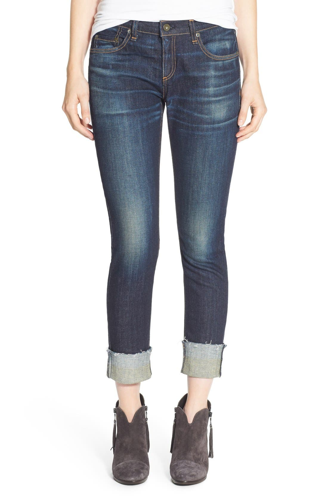 Main Image - rag & bone/JEAN 'The Dre' Slim Fit Boyfriend Jeans (Yesler)