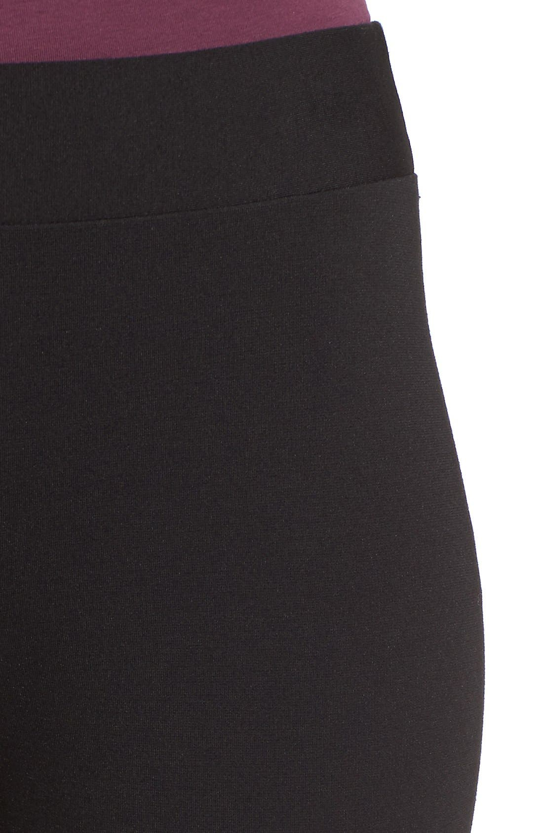 Alternate Image 4  - Two by Vince Camuto Seamed Back Leggings (Regular & Petite)