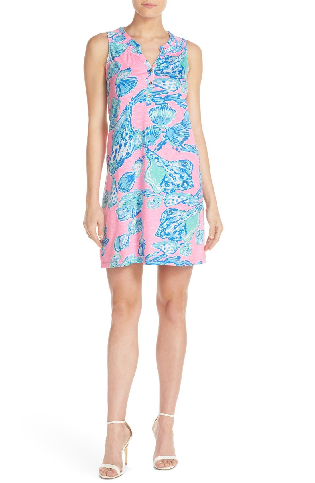 Alternate Image 4  - Lilly Pulitzer® 'Essie' Print Cotton & Modal A-Line Dress