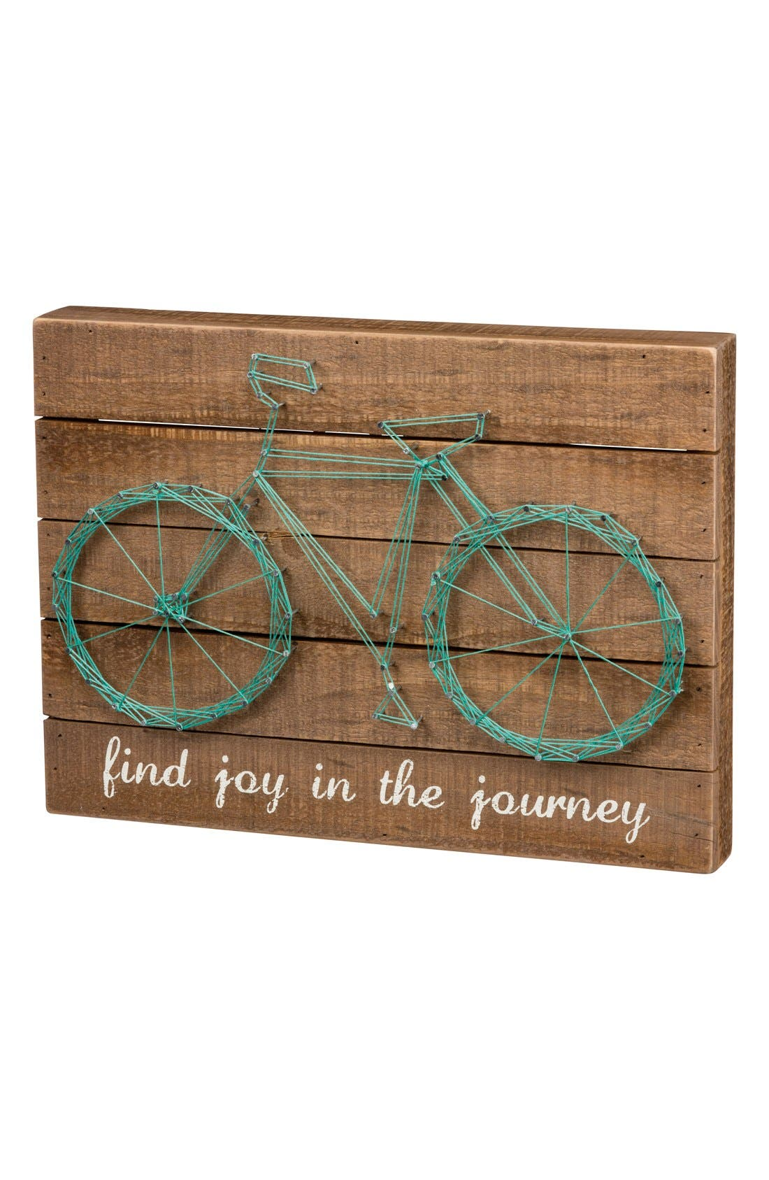 Alternate Image 1 Selected - Primitives by Kathy 'Find Joy in the Journey' String Art Box Sign