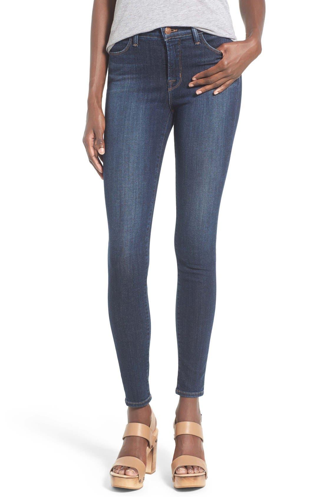 J Brand 'Maria' Skinny Jeans (Oblivion)