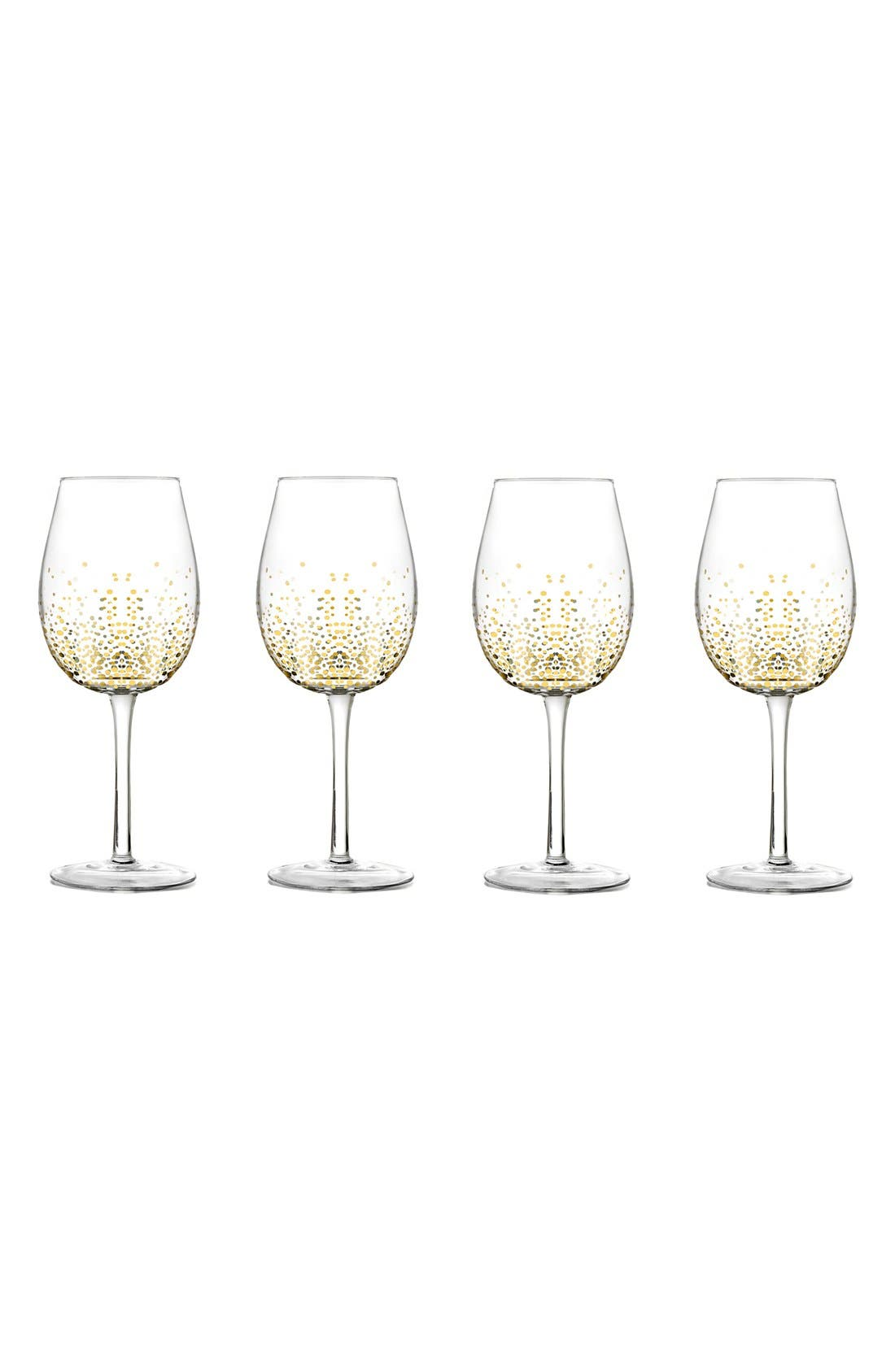 American Atelier Luster Set of 4 Wine Glasses