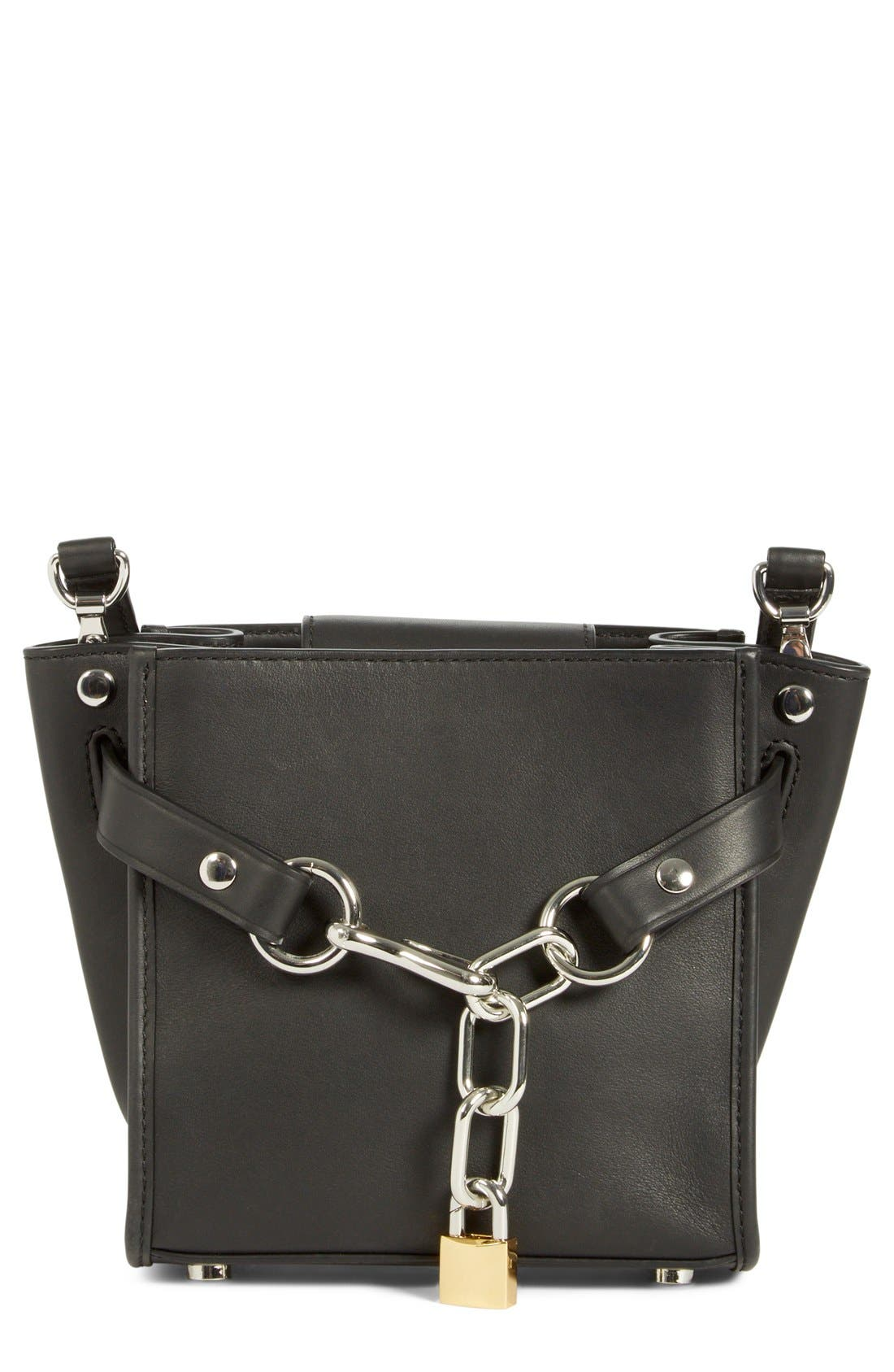 ALEXANDER WANG 'Mini Attica' Leather Crossbody Bag