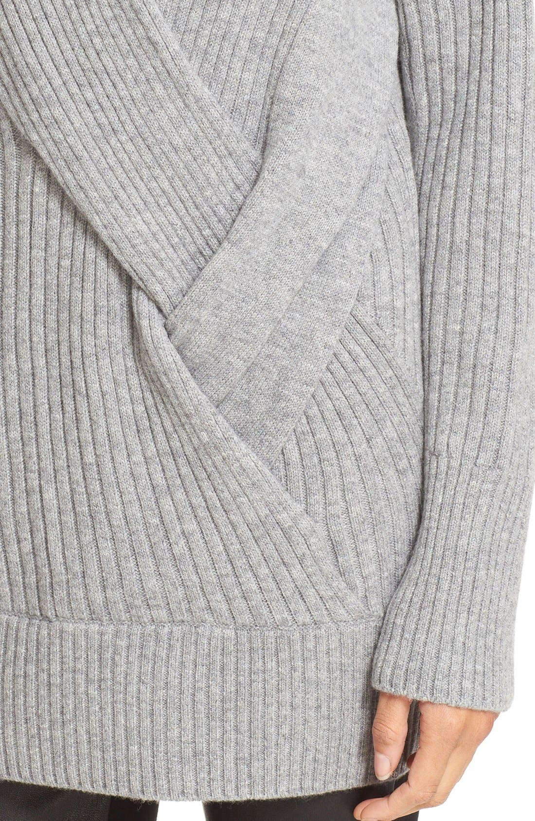 Alternate Image 4  - rag & bone 'Dale' Merino Wool Turtleneck Sweater