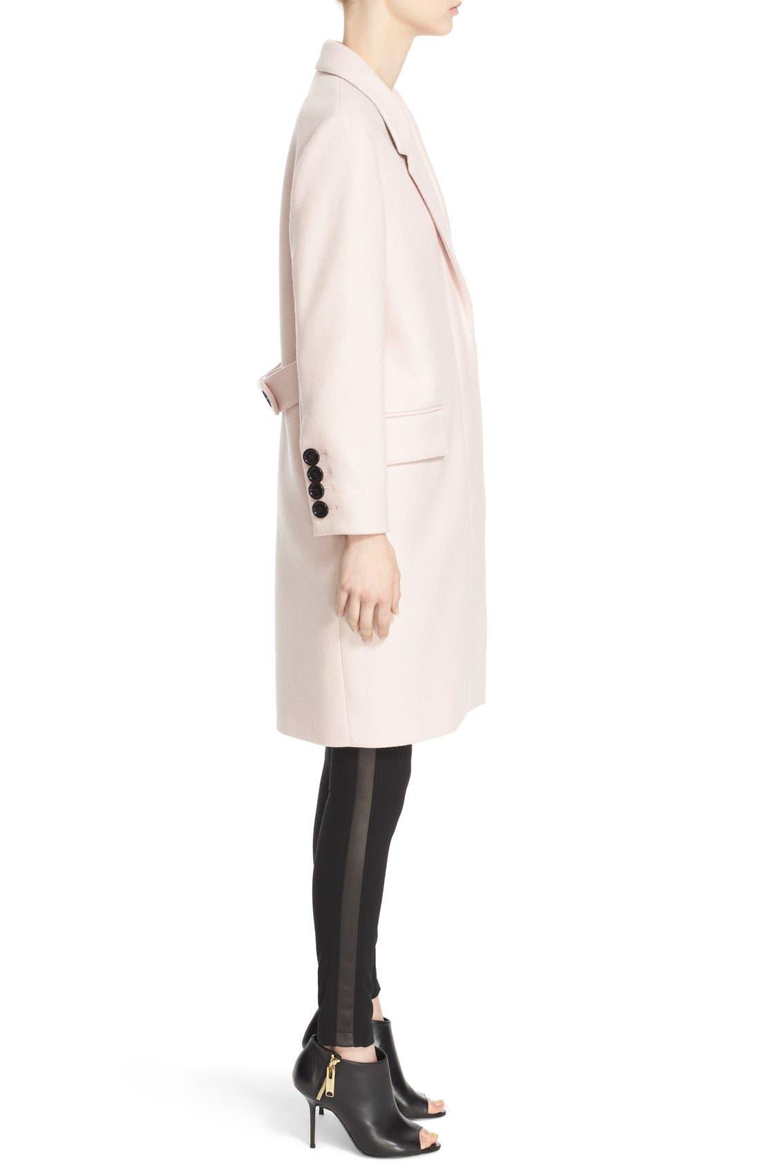 Alternate Image 5  - Burberry Alphington Wool Coat