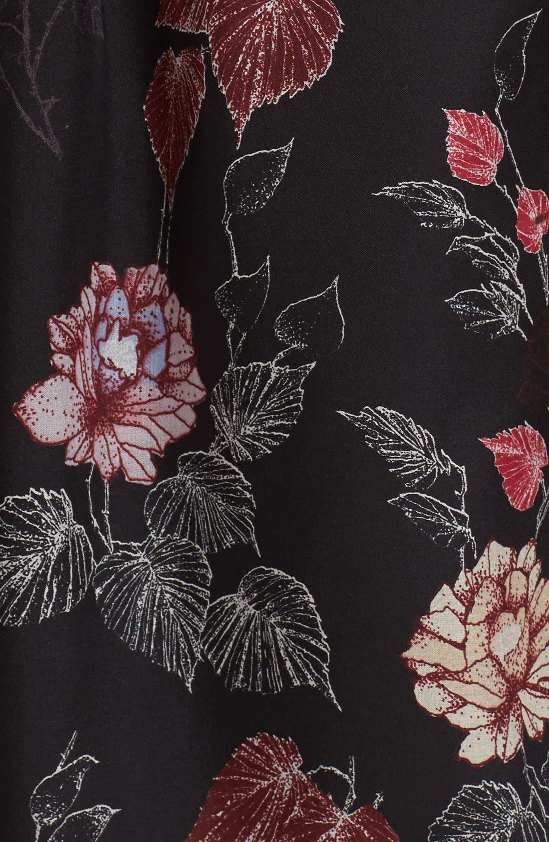 Alternate Image 5  - Equipment 'Signature' Floral Print Silk Shirt