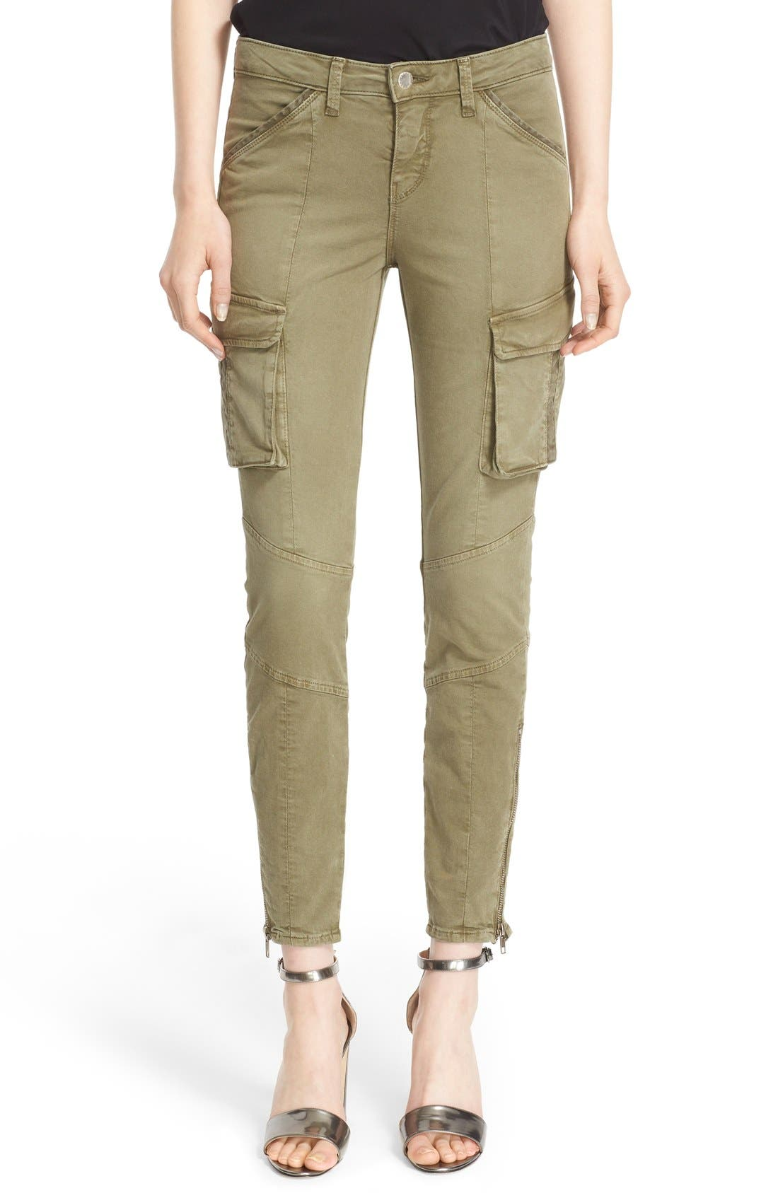 Alternate Image 1 Selected - L'AGENCE Skinny Cargo Pants