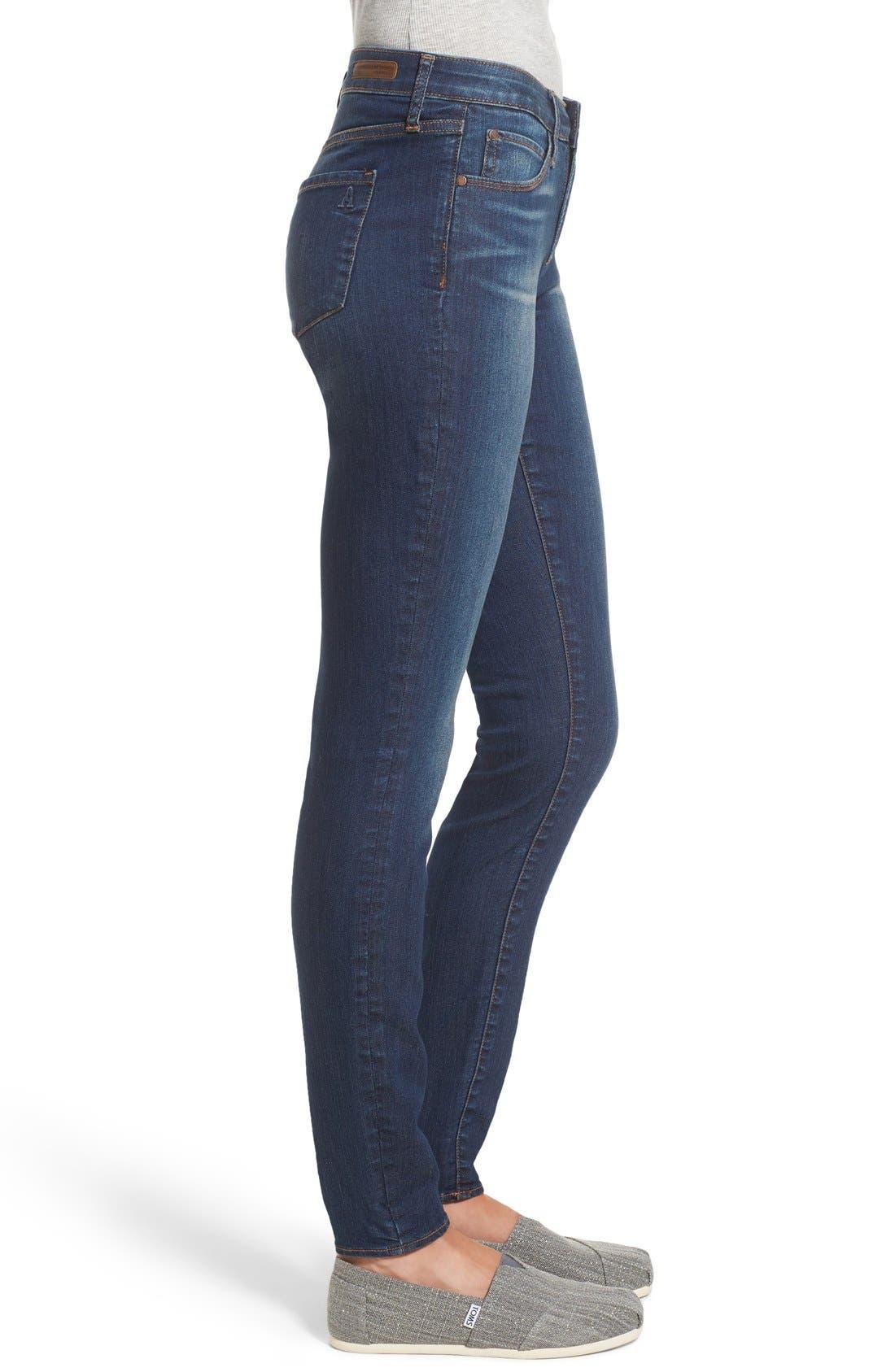 Alternate Image 4  - Articles of Society 'Mya' Skinny Jeans (Americana)