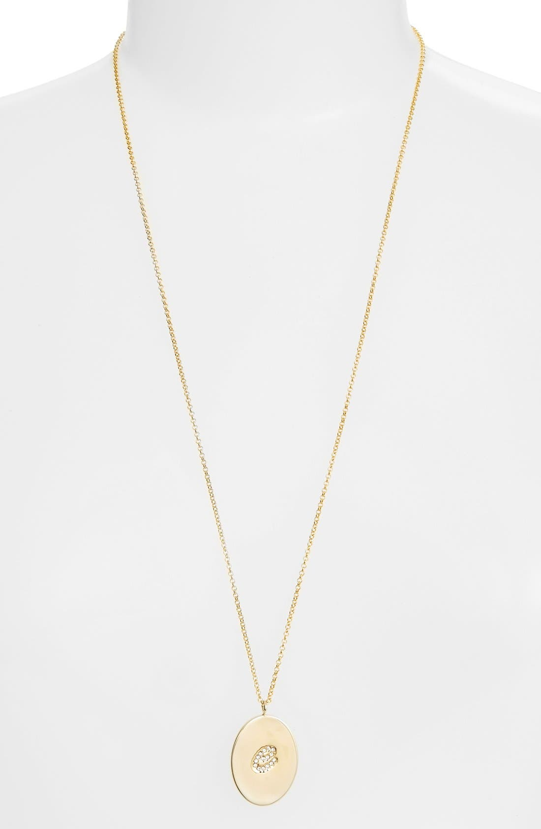 Alternate Image 2  - kate spade new york 'initial thoughts' initial pendant necklace