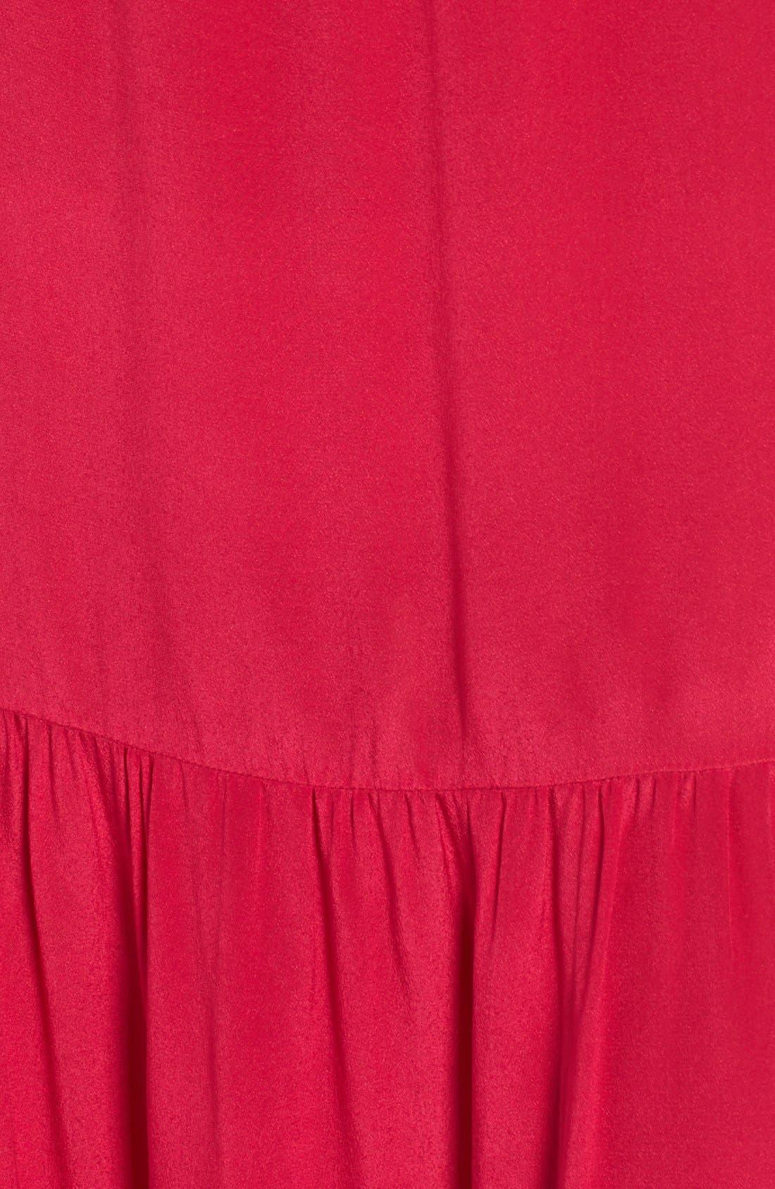 Alternate Image 7  - Soler 'Thalia' Off the Shoulder Silk Maxi Dress