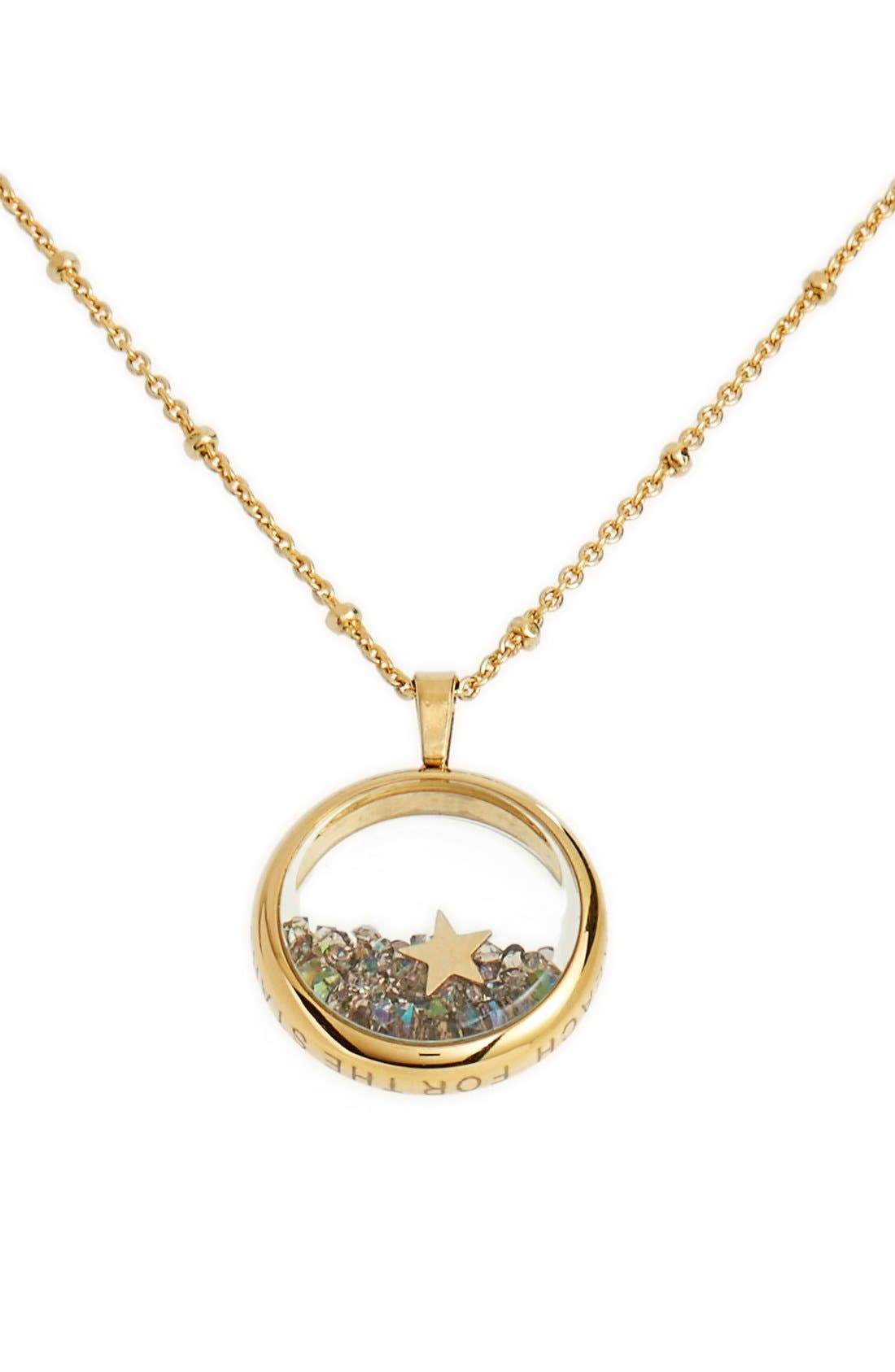 Main Image - kate spade new york 'reach for the stars' pendant necklace
