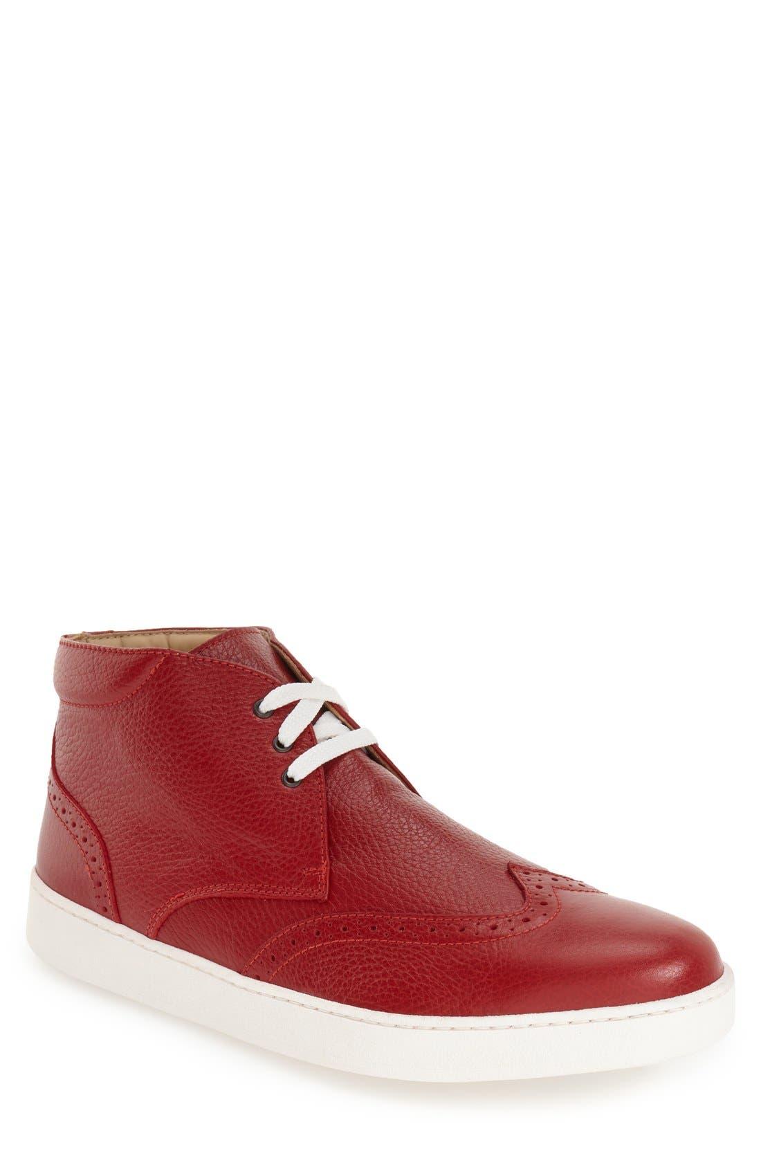BUGATCHI 'Portofino' High Top Sneaker