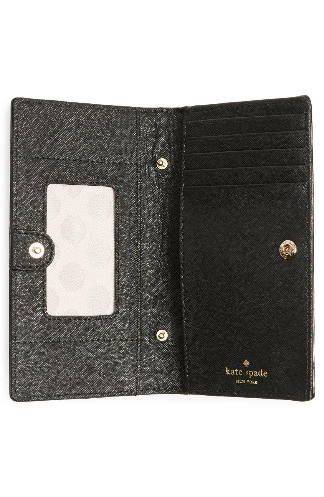 Alternate Image 2  - kate spade new york iPhone 6 & 6s leather crossbody wallet