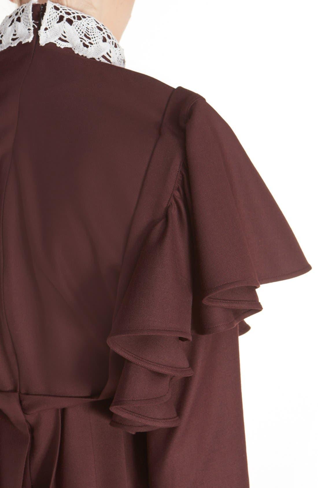 Alternate Image 6  - Vetements 'Schoolgirl' Lace Trim Minidress