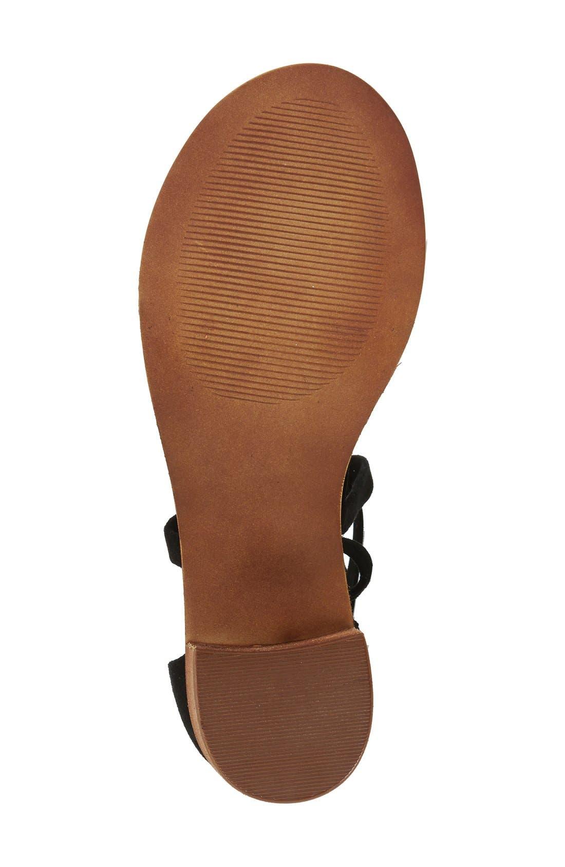 Alternate Image 4  - Steve Madden 'Rizzaa' Ankle Strap Sandal (Women)