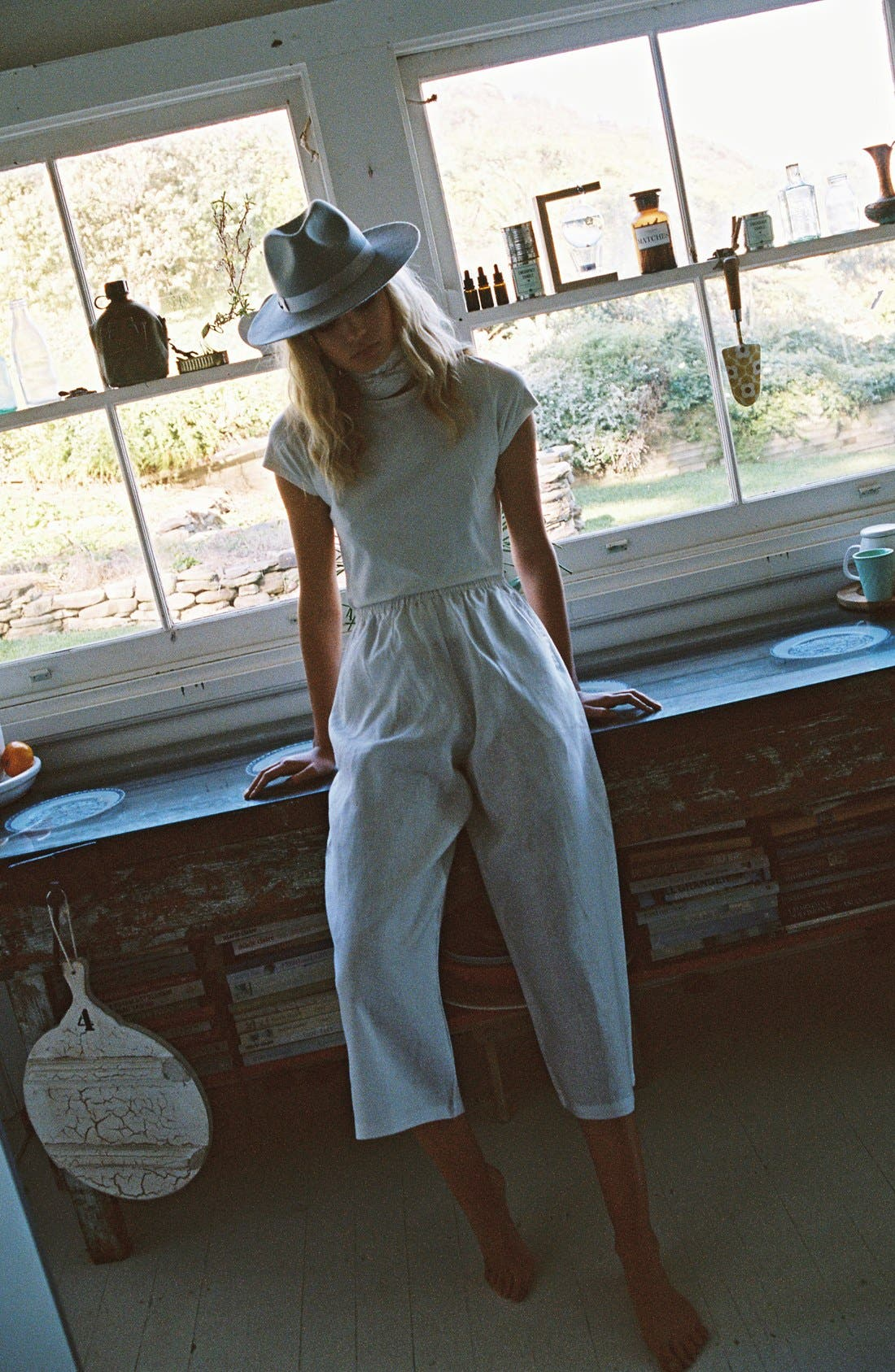 Alternate Image 4  - Lack of Color 'The Silver Haze' Felted Wool Fedora