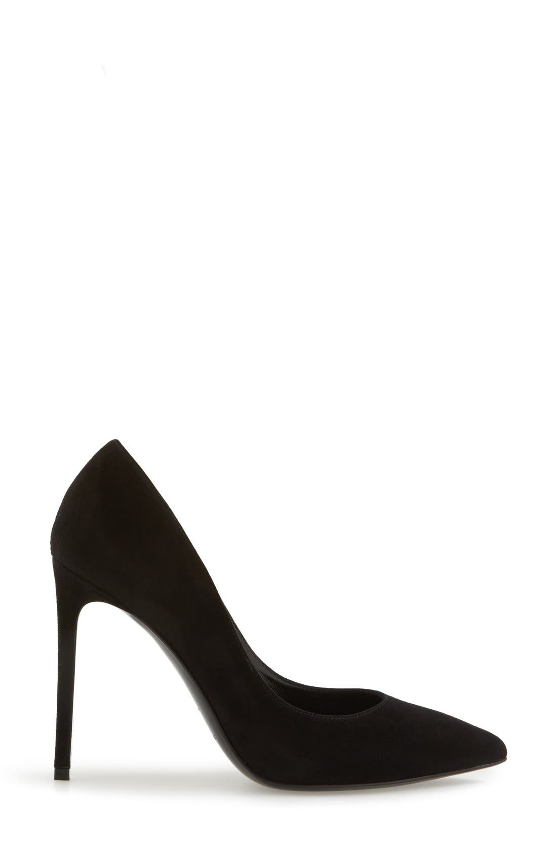 Alternate Image 7  - Saint Laurent 'Paris Skinny' Pointy Toe Pump (Women)