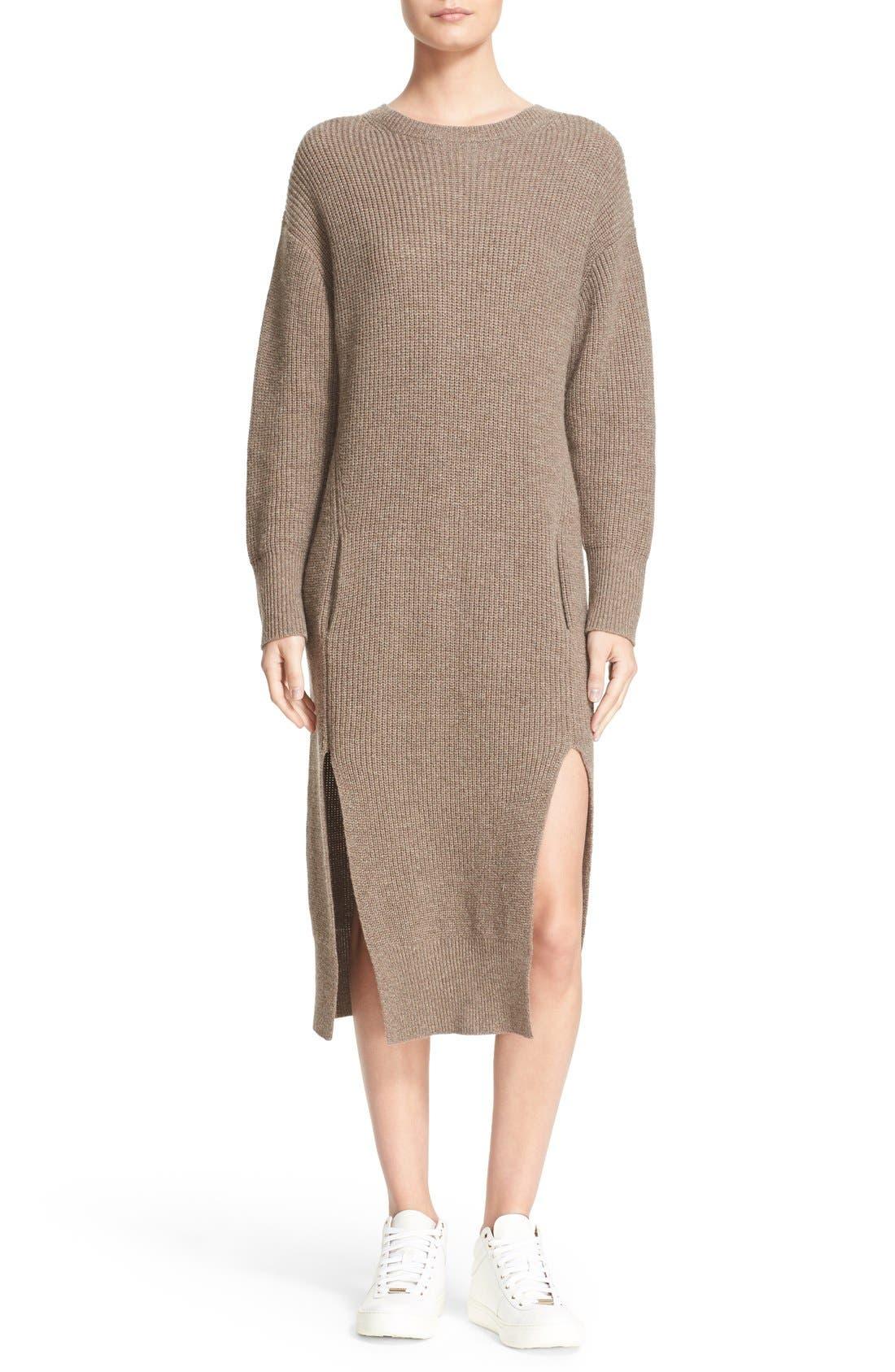 Main Image - Sea Wool & Cashmere Midi Sweater Dress