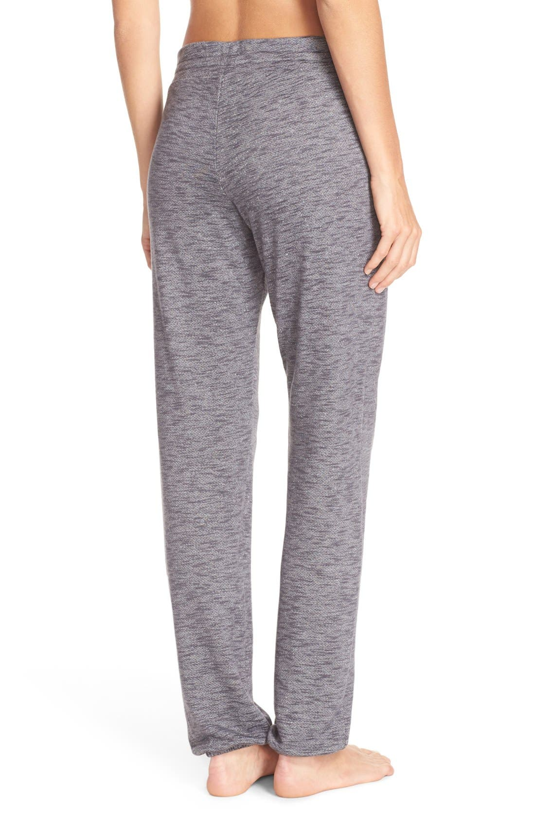 Alternate Image 2  - Nordstrom Lingerie Jogger Sweatpants