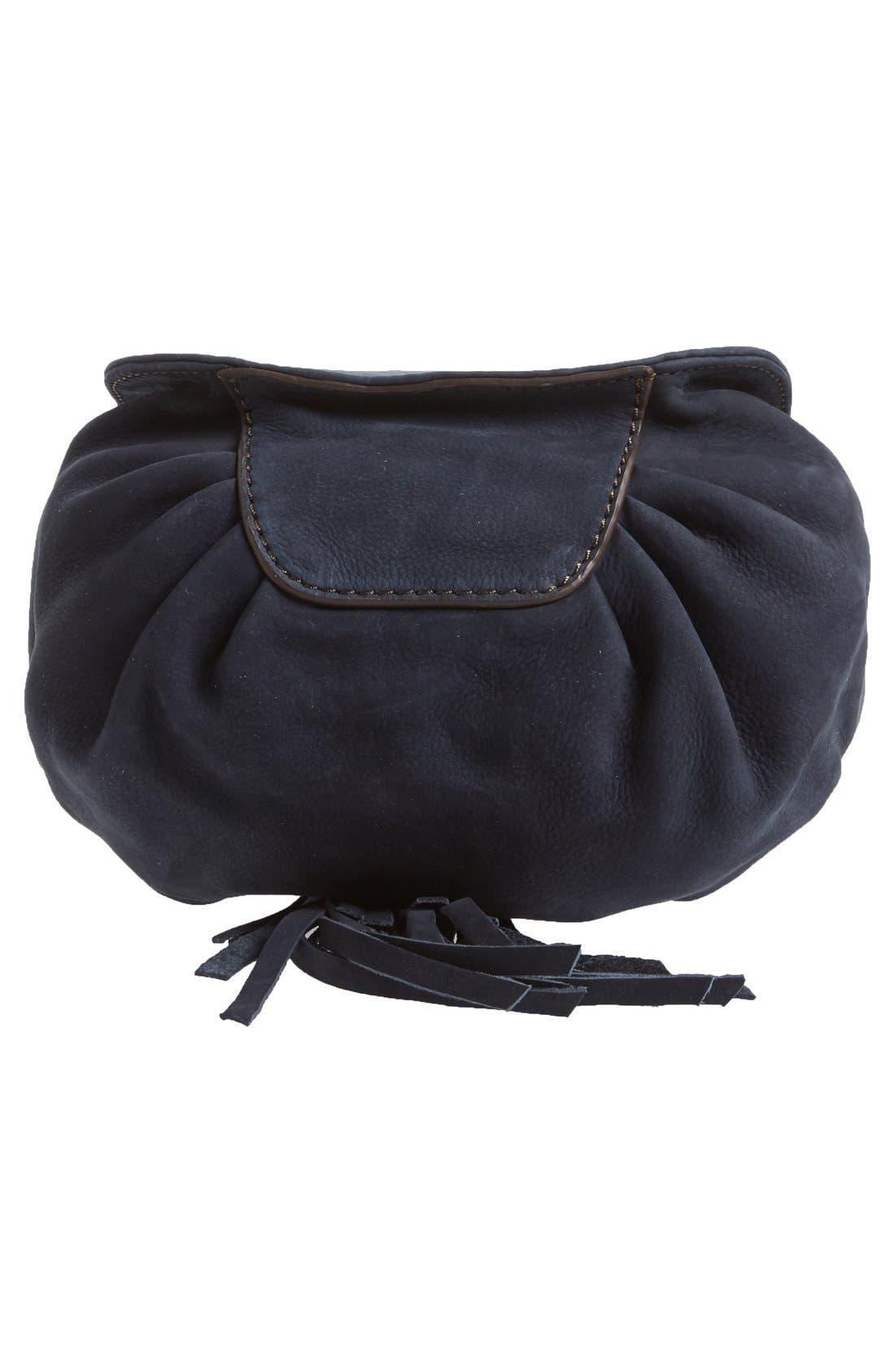 Alternate Image 7  - Treasure&Bond Tasseled Leather Bucket Bag