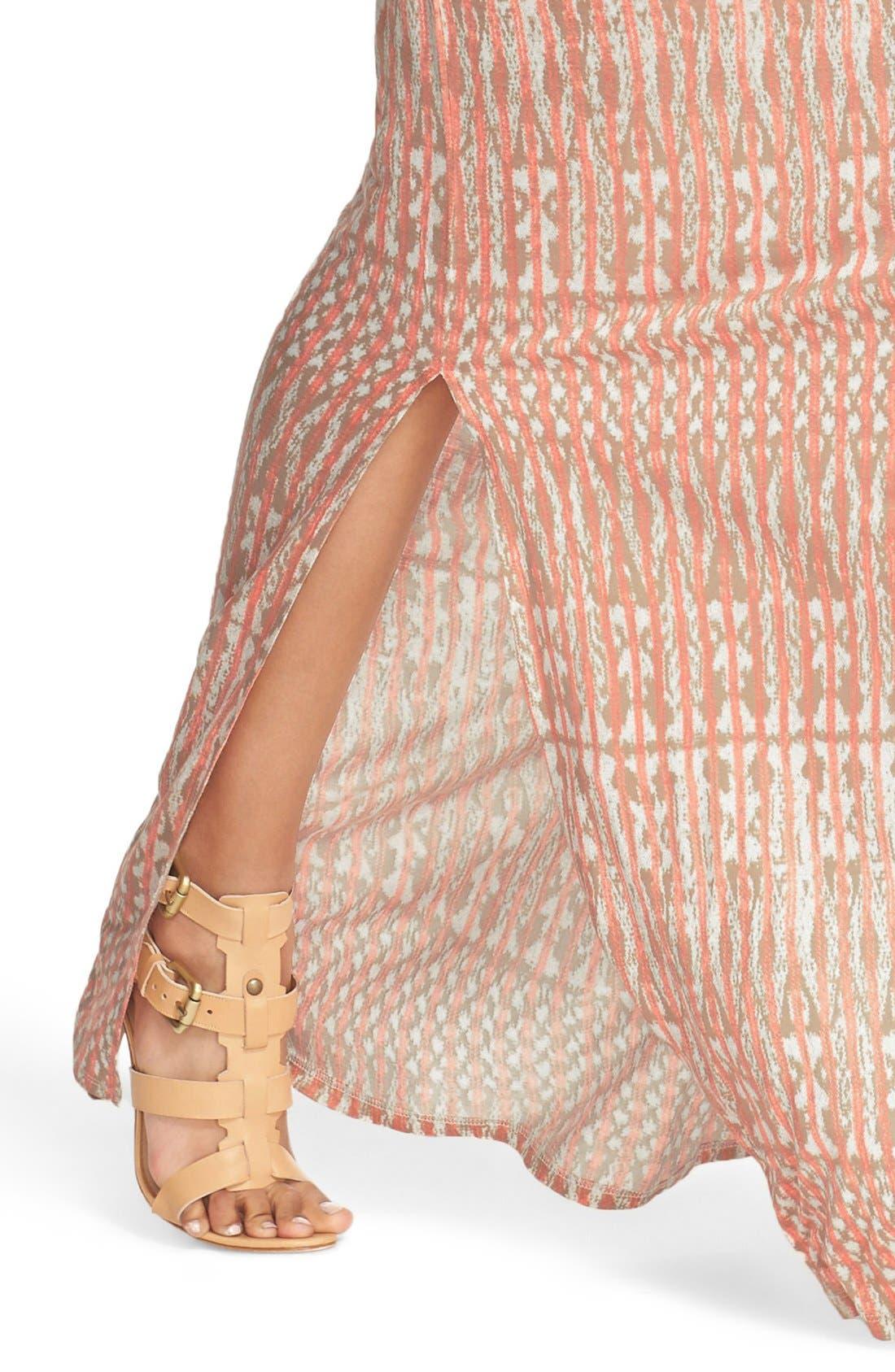 Alternate Image 4  - Joie 'Nahia' Ikat Print Blouson Maxi Dress
