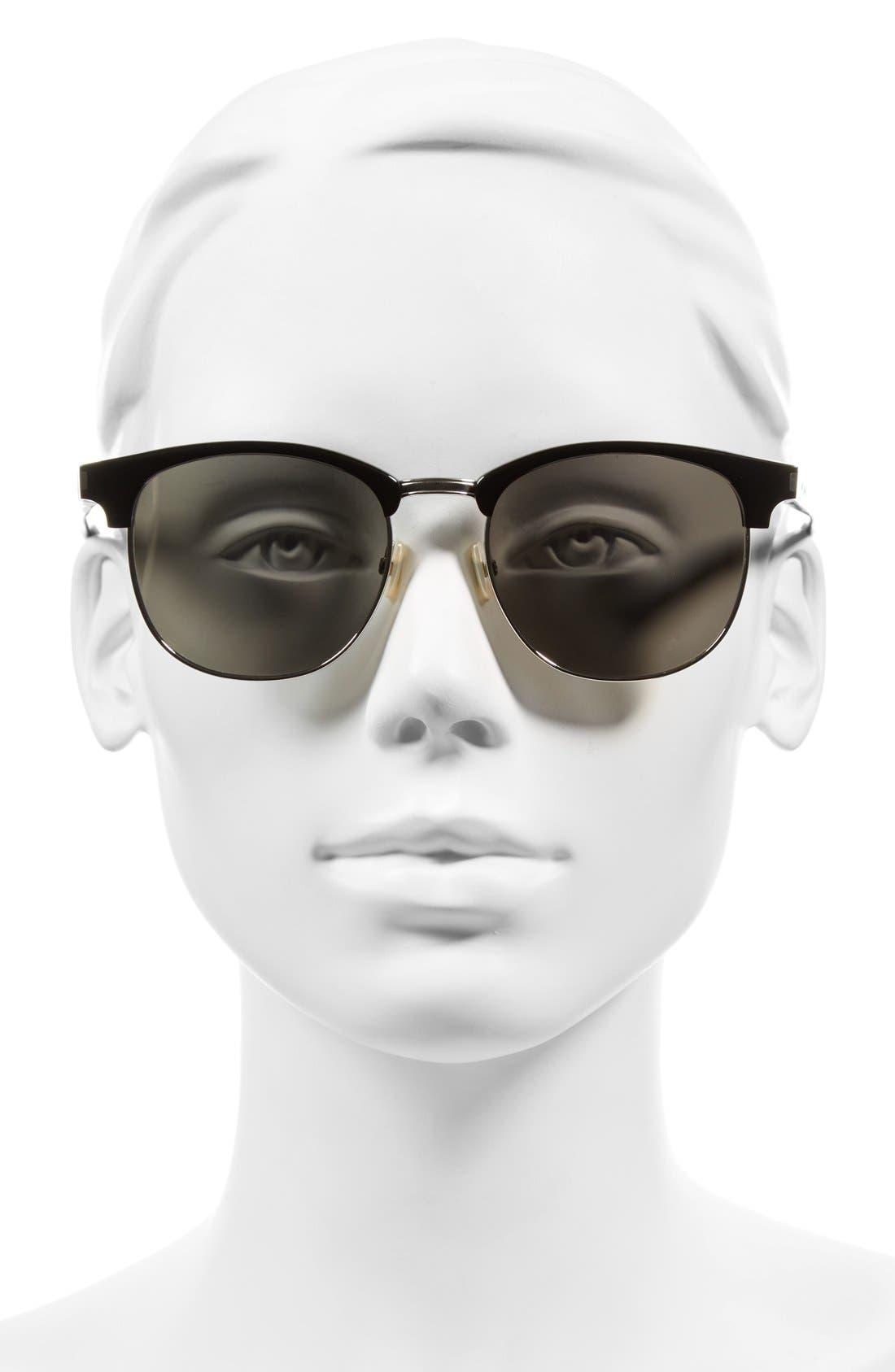 Alternate Image 2  - Saint Laurent 52mm Sunglasses