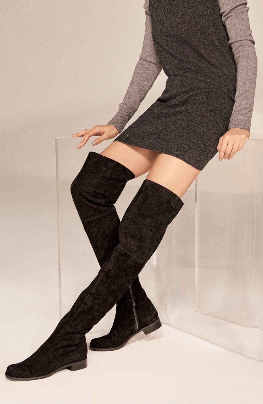 Alternate Image 6  - Stuart Weitzman 'Hilo' Thigh High Boot (Women) (Nordstrom Exclusive)