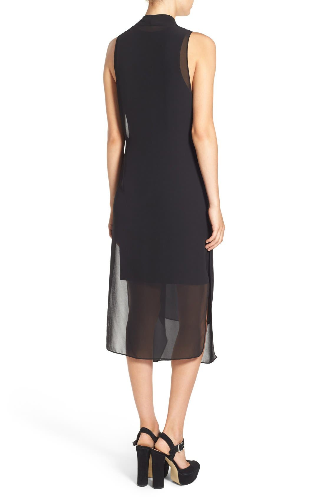 Alternate Image 2  - ASTR Gathered Front Layer Dress