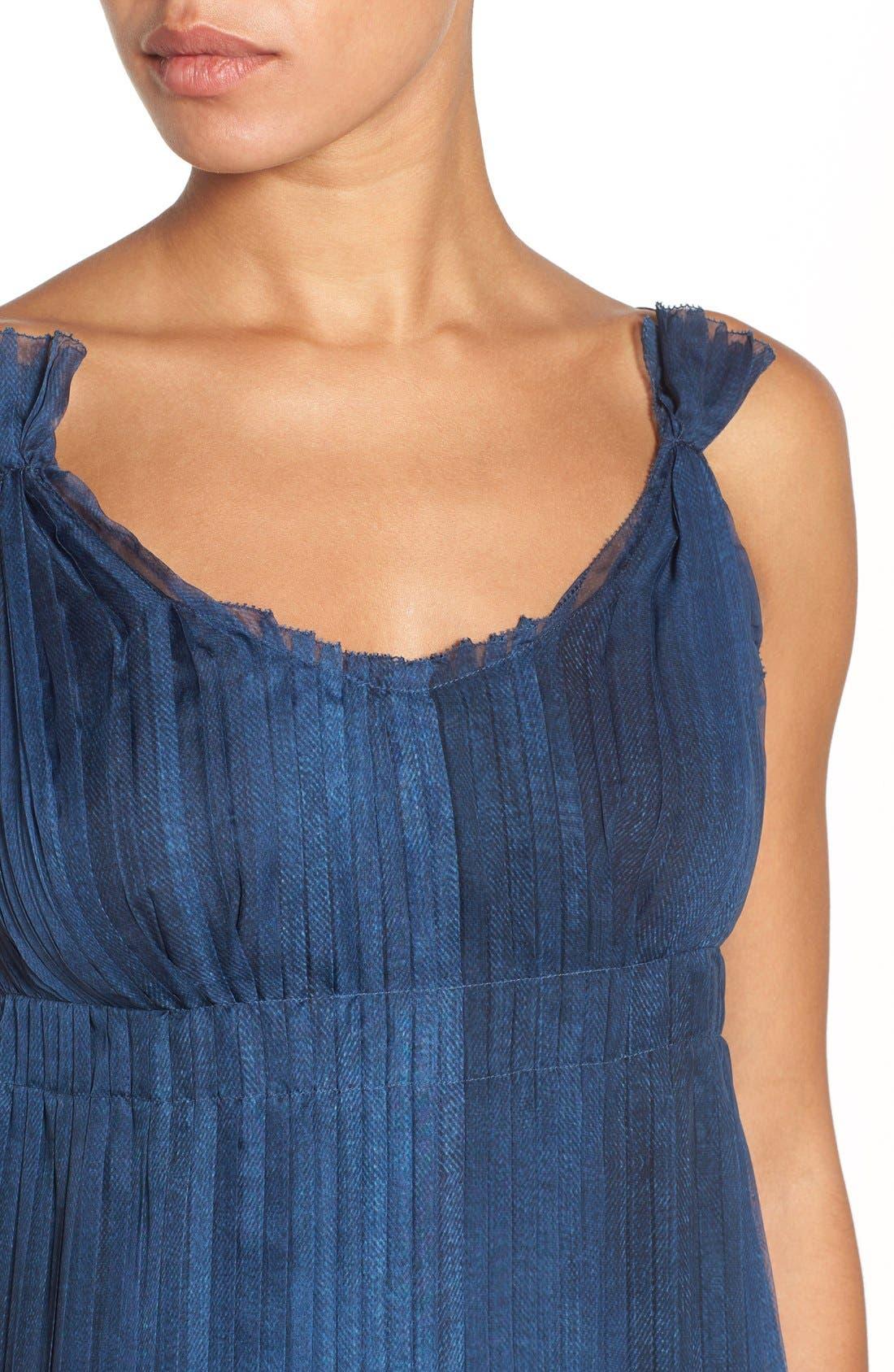 Alternate Image 4  - Elie Tahari 'Opal' Pleated Maxi Dress