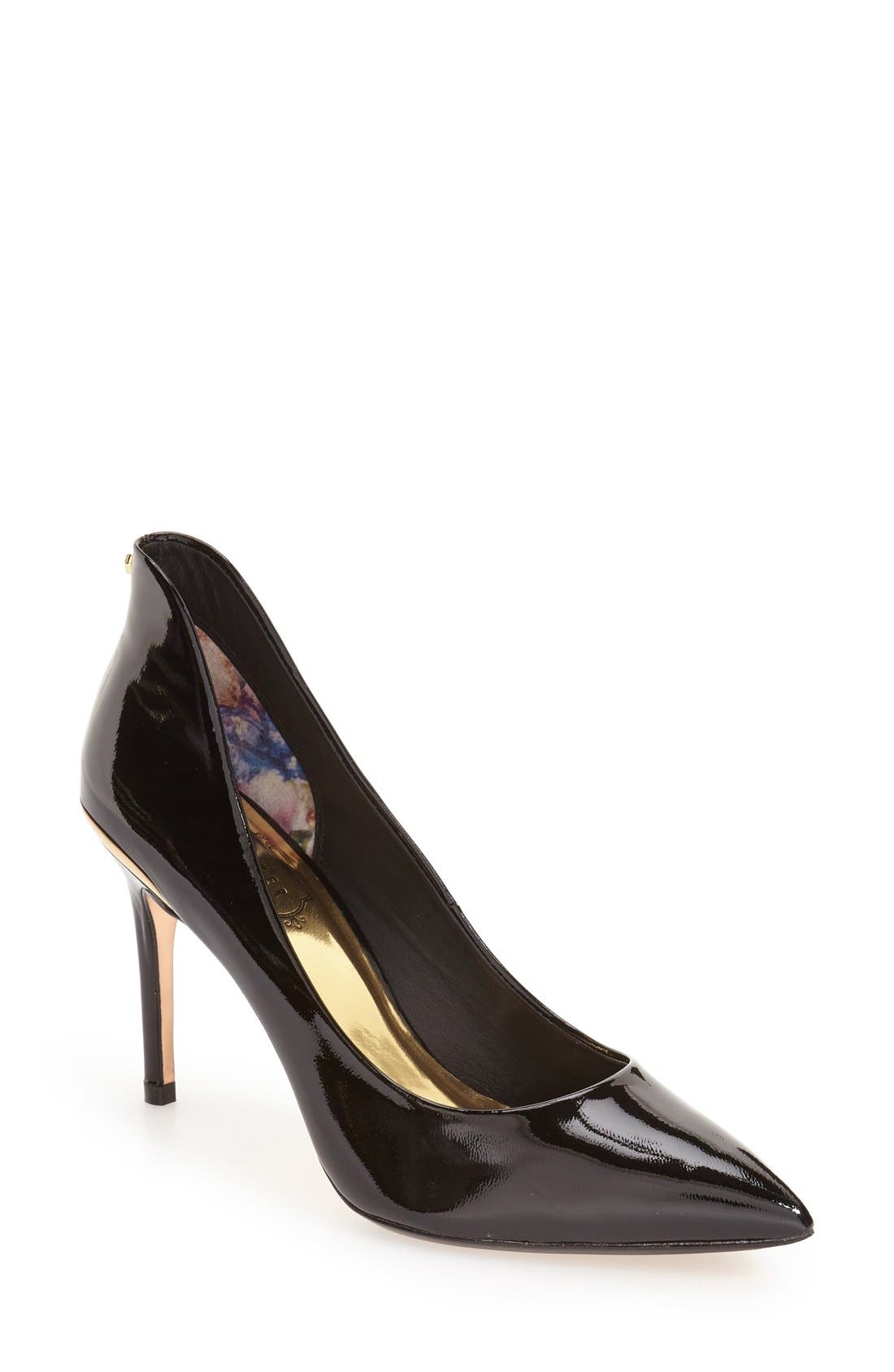 Ted Baker London 'Saviy' Leather Pump (Women)