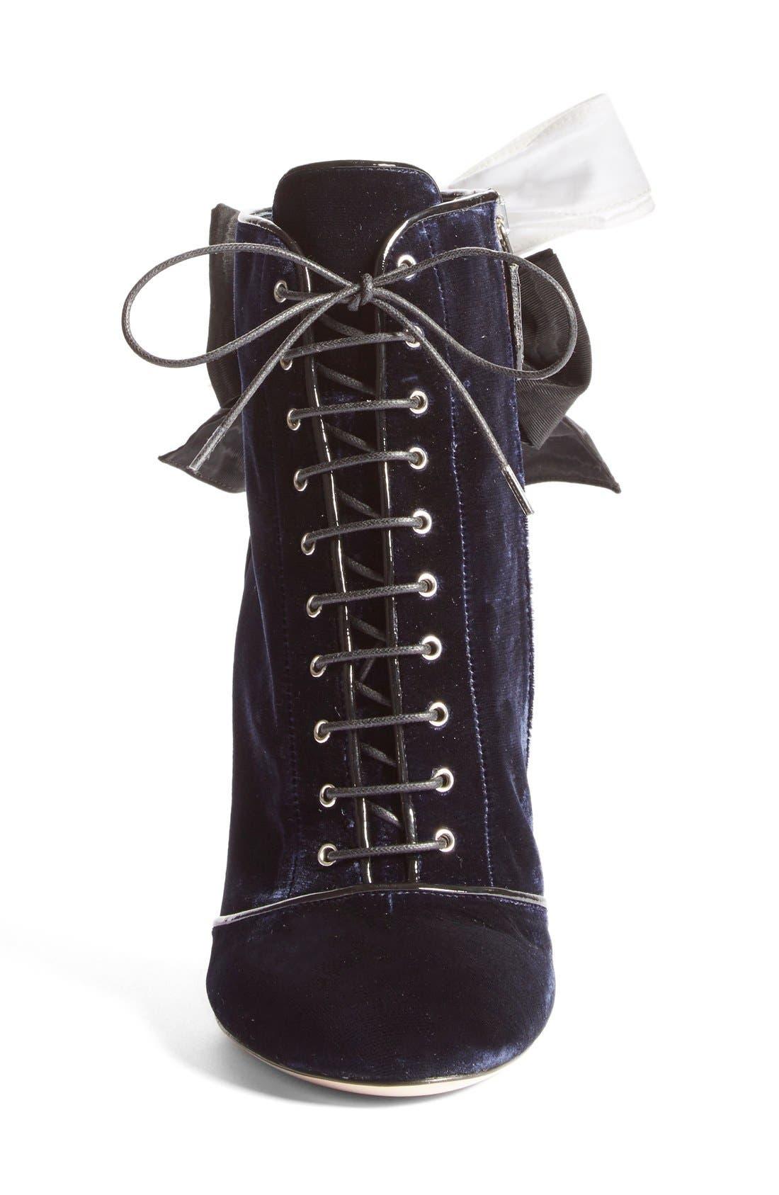 Alternate Image 3  - Miu Miu 'Bow Tie' Bootie (Women)