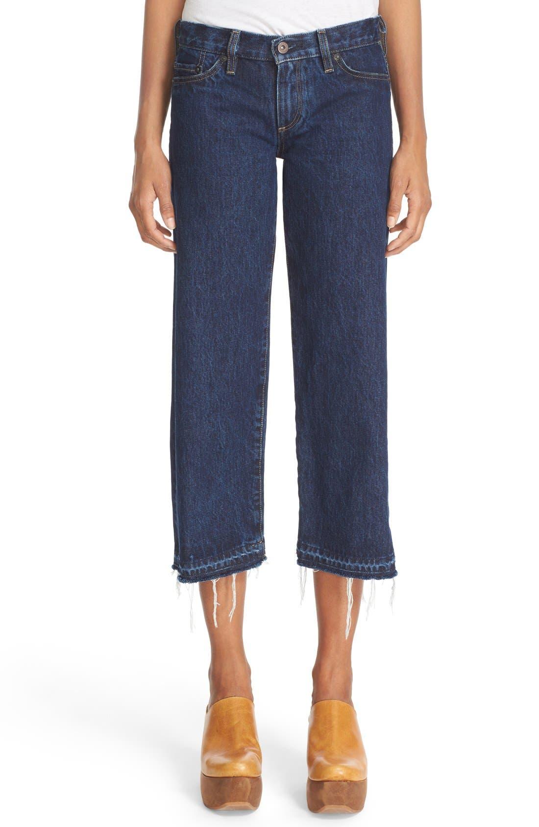 SIMON MILLER W005 Crop Jeans
