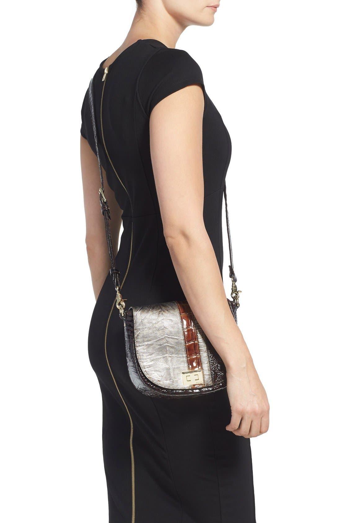 Alternate Image 2  - Brahmin 'Tillie' Embossed Leather Crossbody Bag (Nordstrom Exclusive)