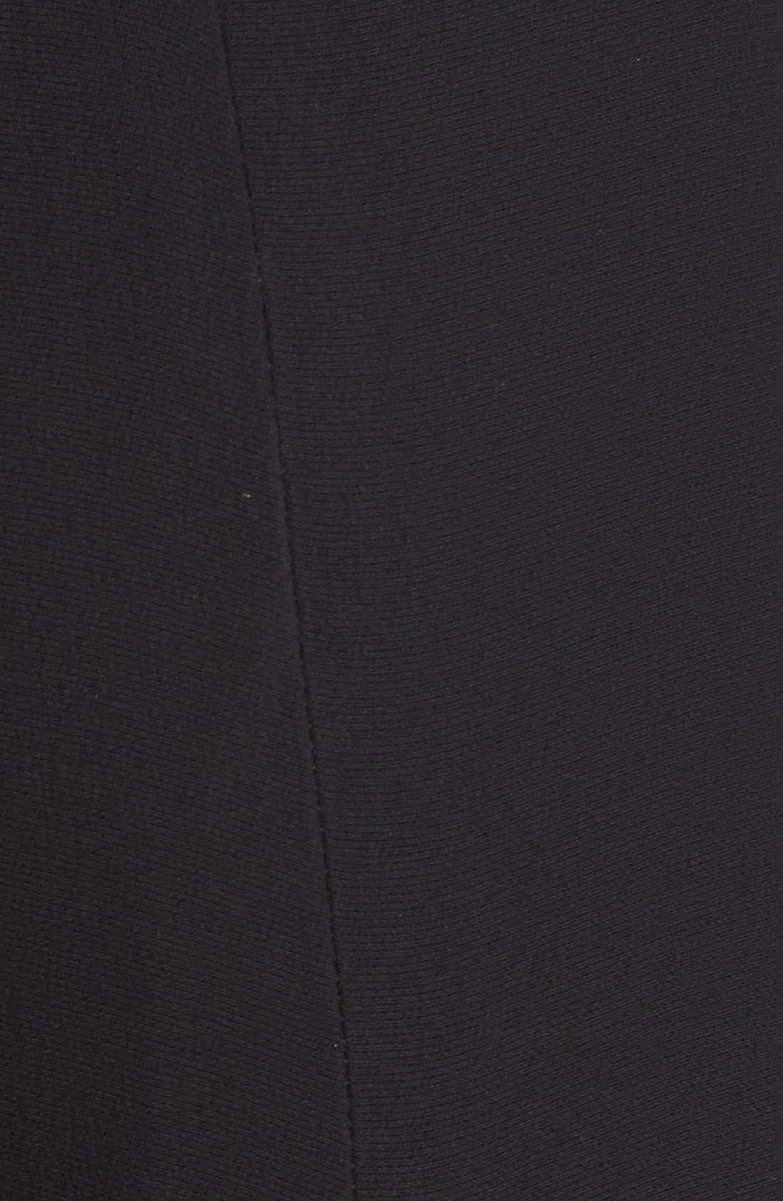 Alternate Image 3  - Brandon Maxwell Paneled Wide Leg Crepe Pants