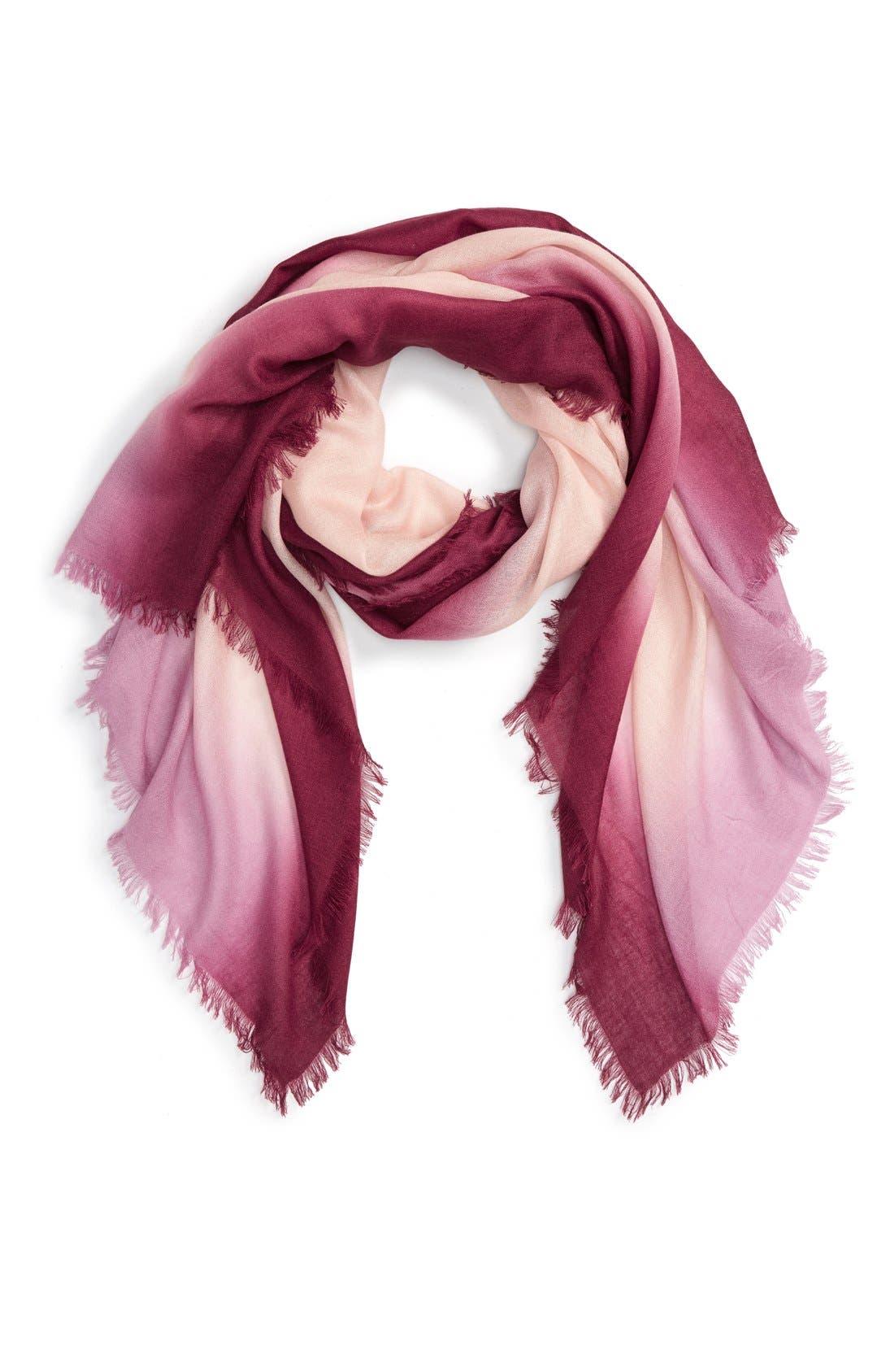 nordstrom dip dye silk scarf nordstrom